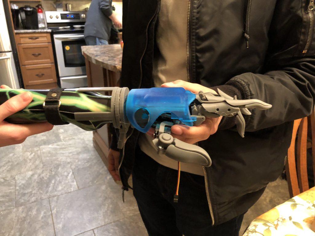 smartARM prosthetic hand