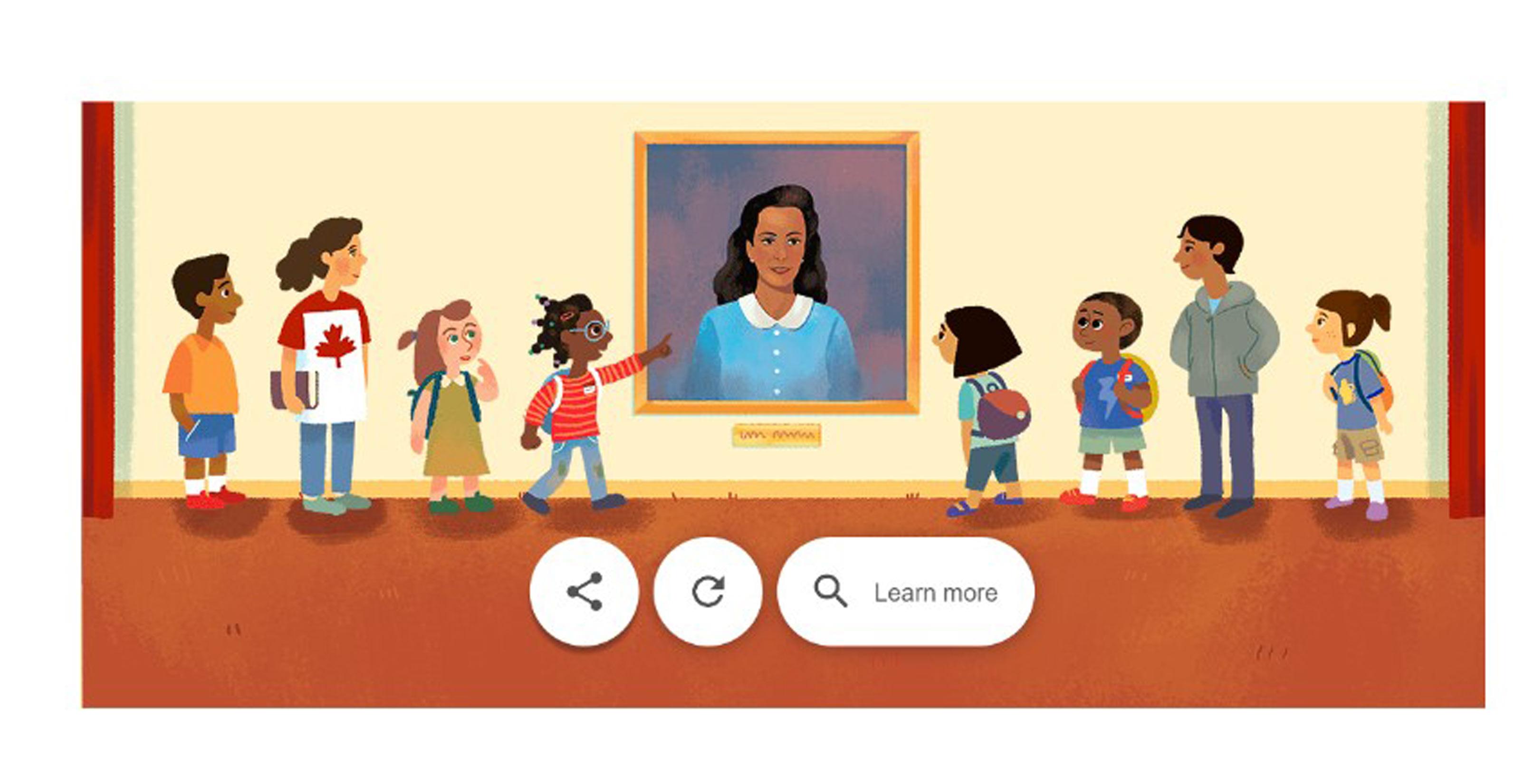 A new Google Doodle honours Viola Desmond