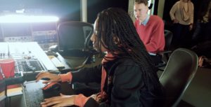 Canadian Producer WondaGurl during the Samsung Studio Session
