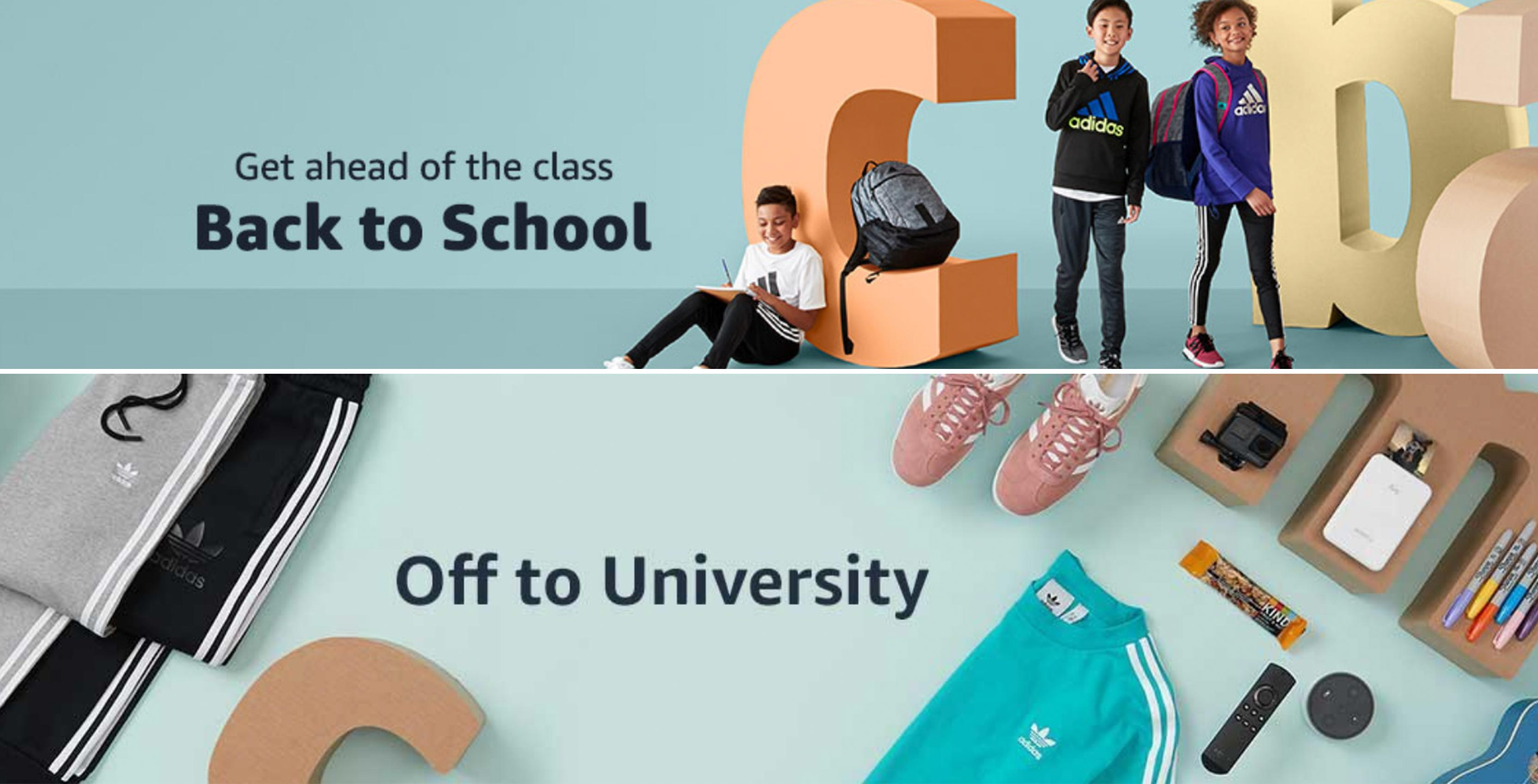 Amazon Canada back to school