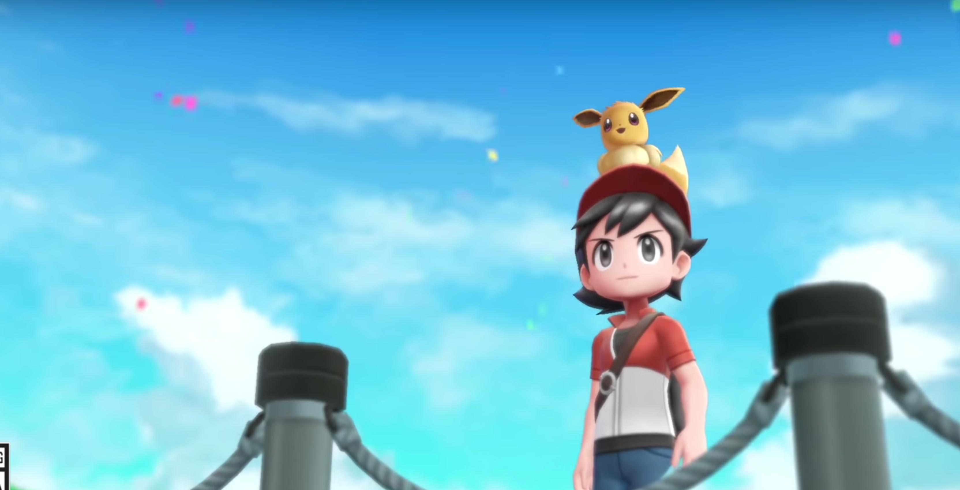 c3b8c2b53e630 As the release date of Pokémon Let s Go Eevee and Let s Go Pikachu nears