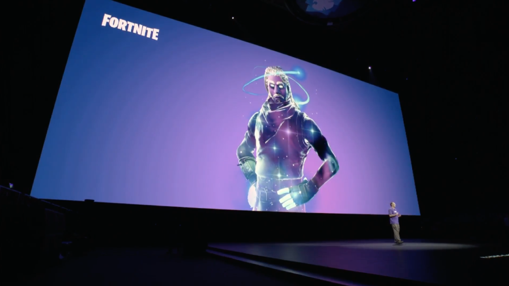 Fortnite Galaxy skin on Android