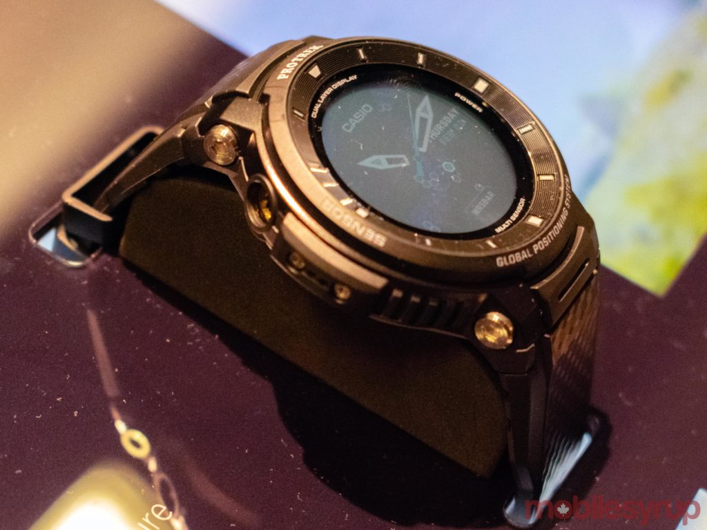 Casio's Pro Trek WSD F30 watch carries the latest version of
