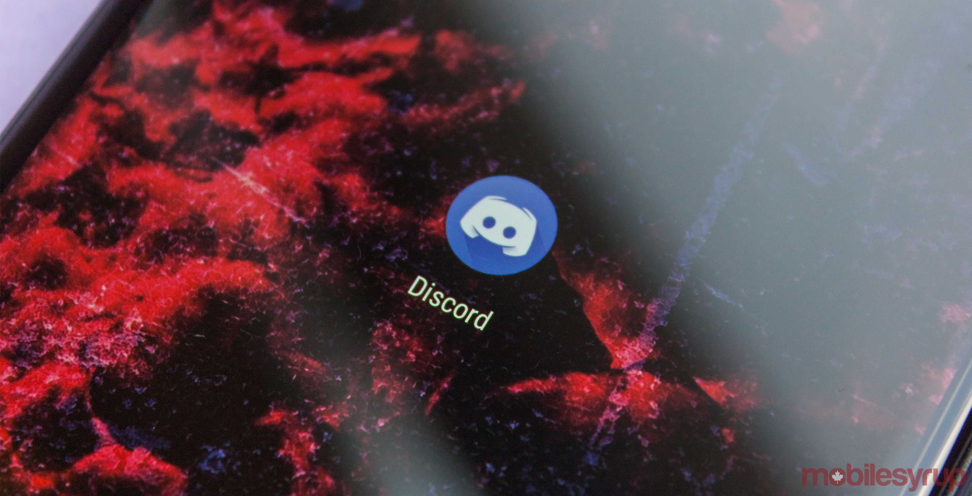 Discord app on Android