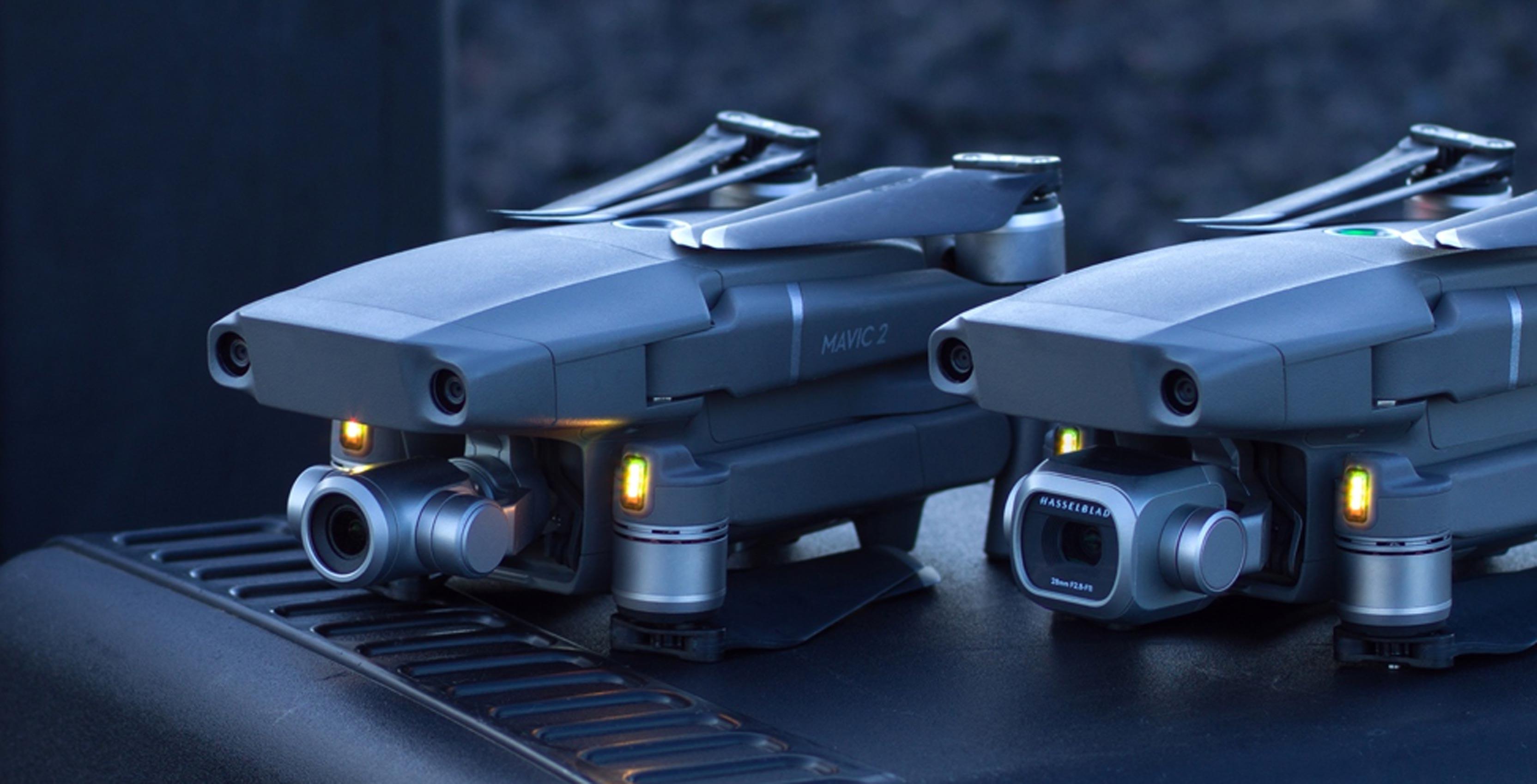 DJI introduces Mavic 2 Pro and Mavic 2 Zoom prosumer drones