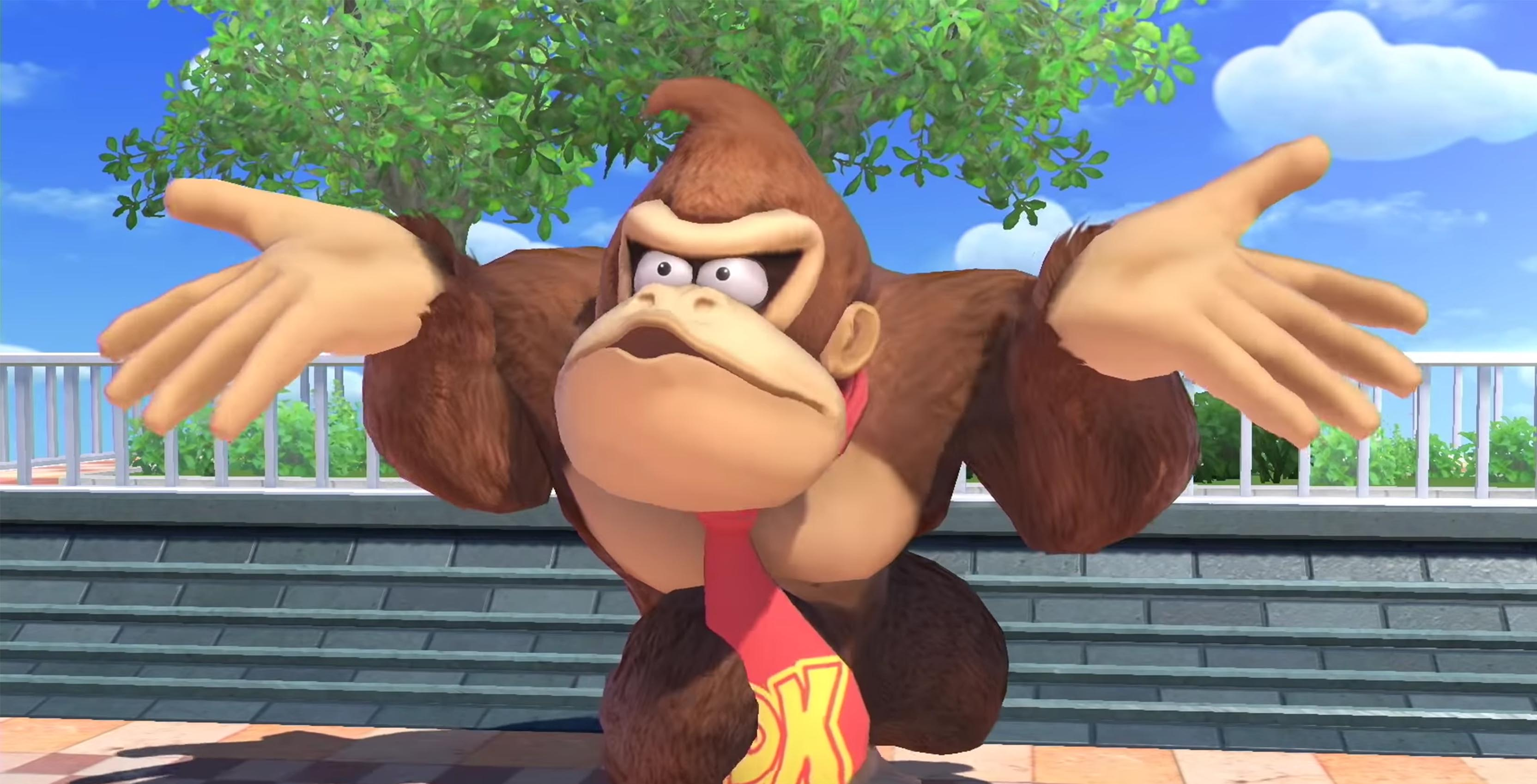 Donkey Kong confused Super Smash Bros.