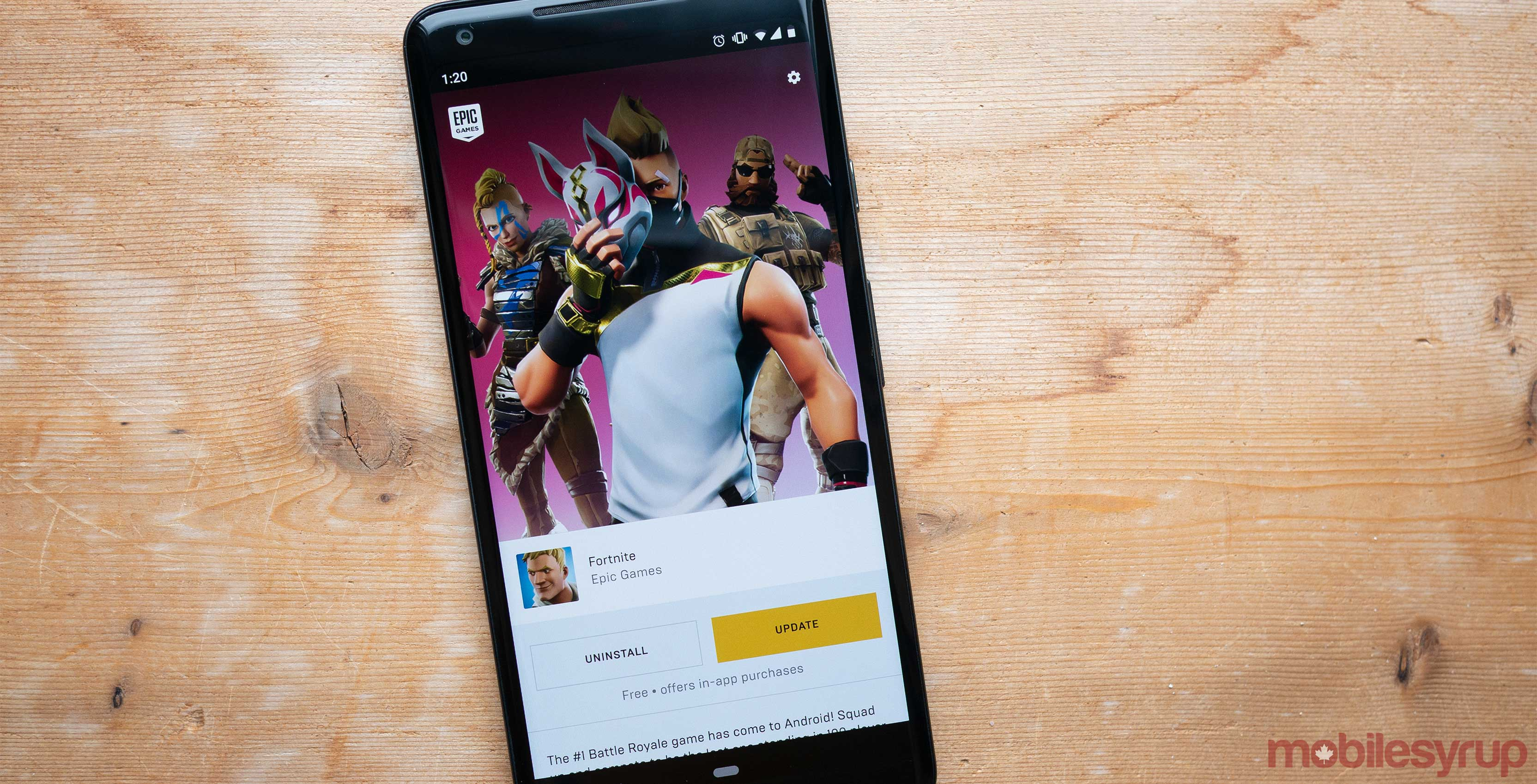Fortnite's initial Android installer could have allowed