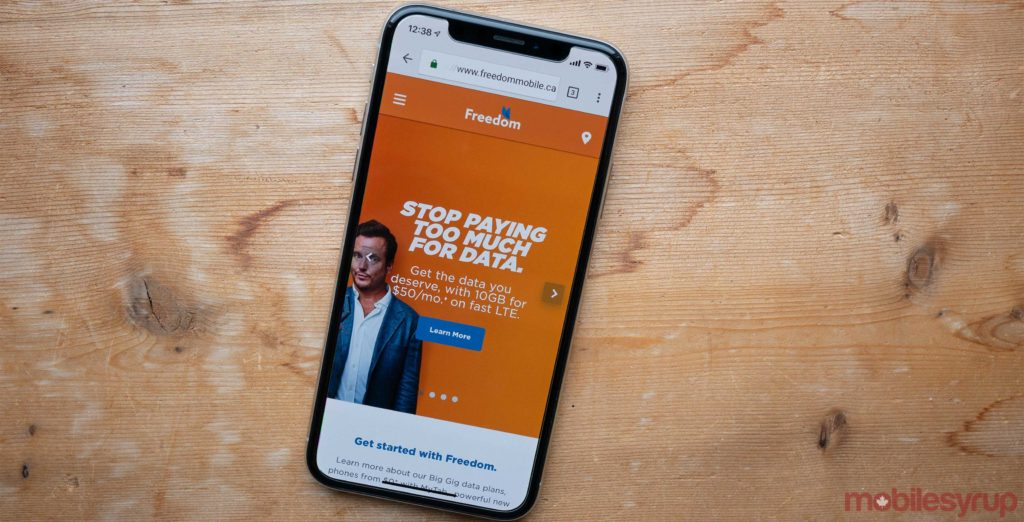 Freedom Mobile's 'Early Black Friday' sale has begun