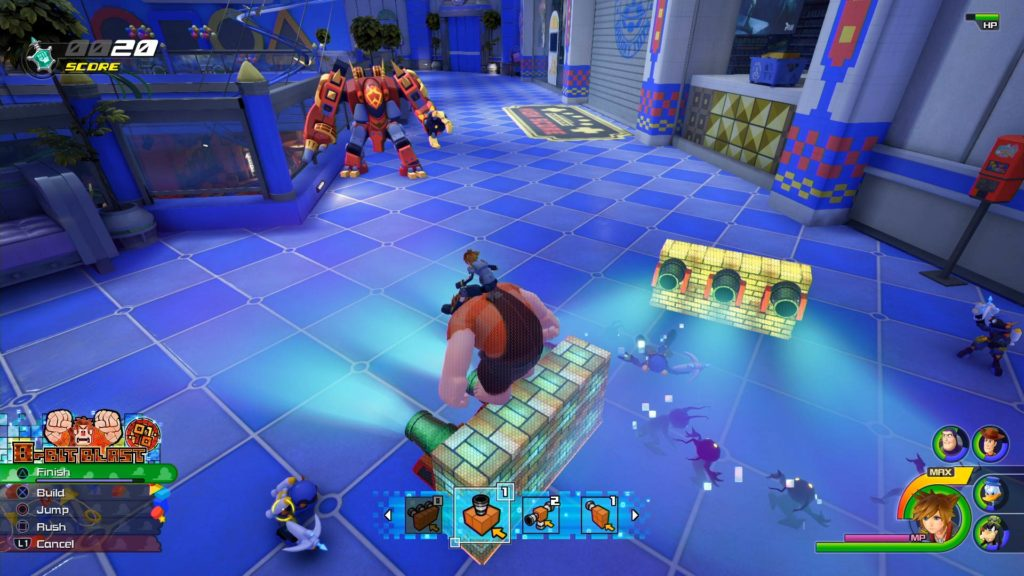 Kingdom Hearts III Wreck-It Ralph