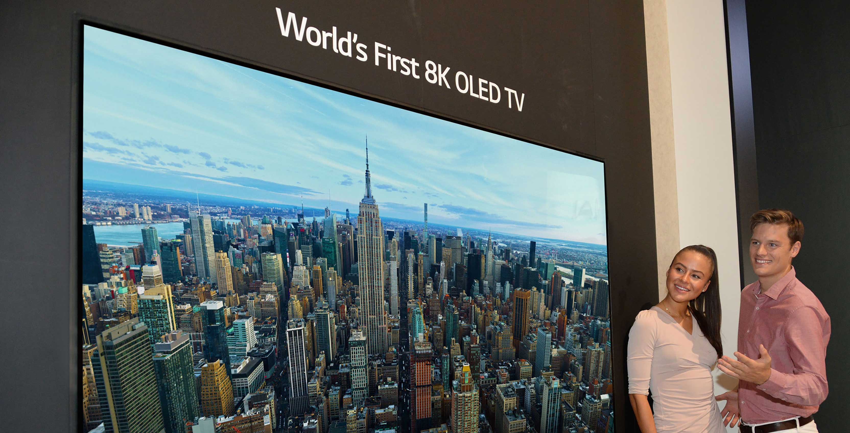 LG unveils the world's first 8K OLED TV at IFA 2018