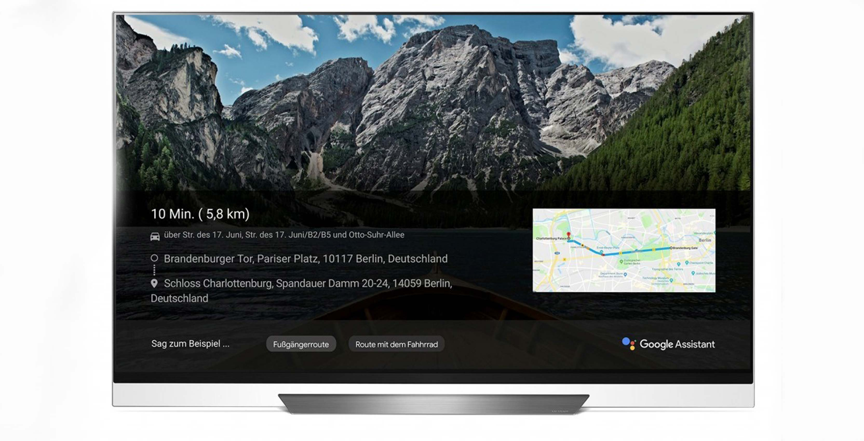 LG ThinQ TV with Google Assistant