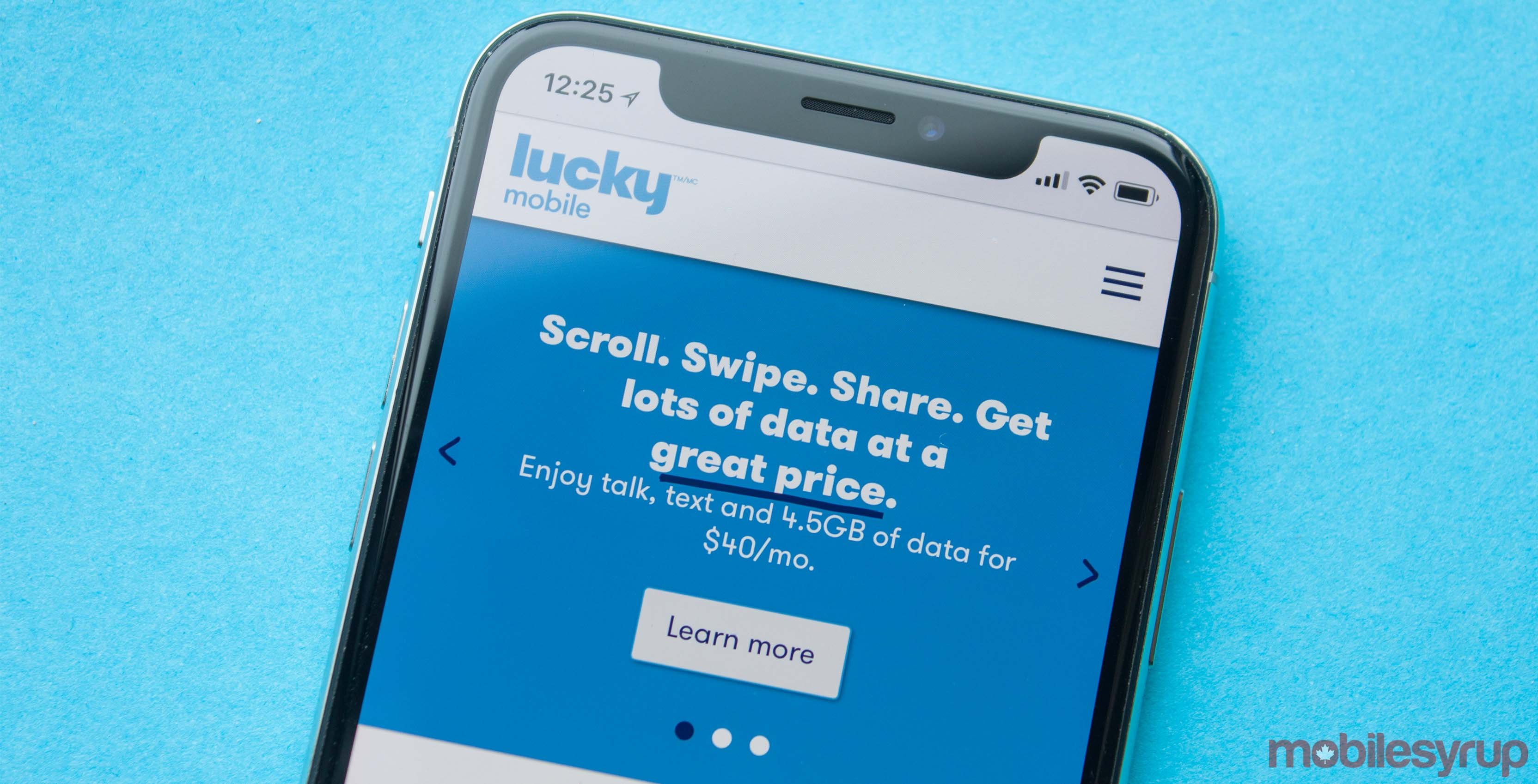 Lucky Mobile adds unlimited data with speeds throttled at