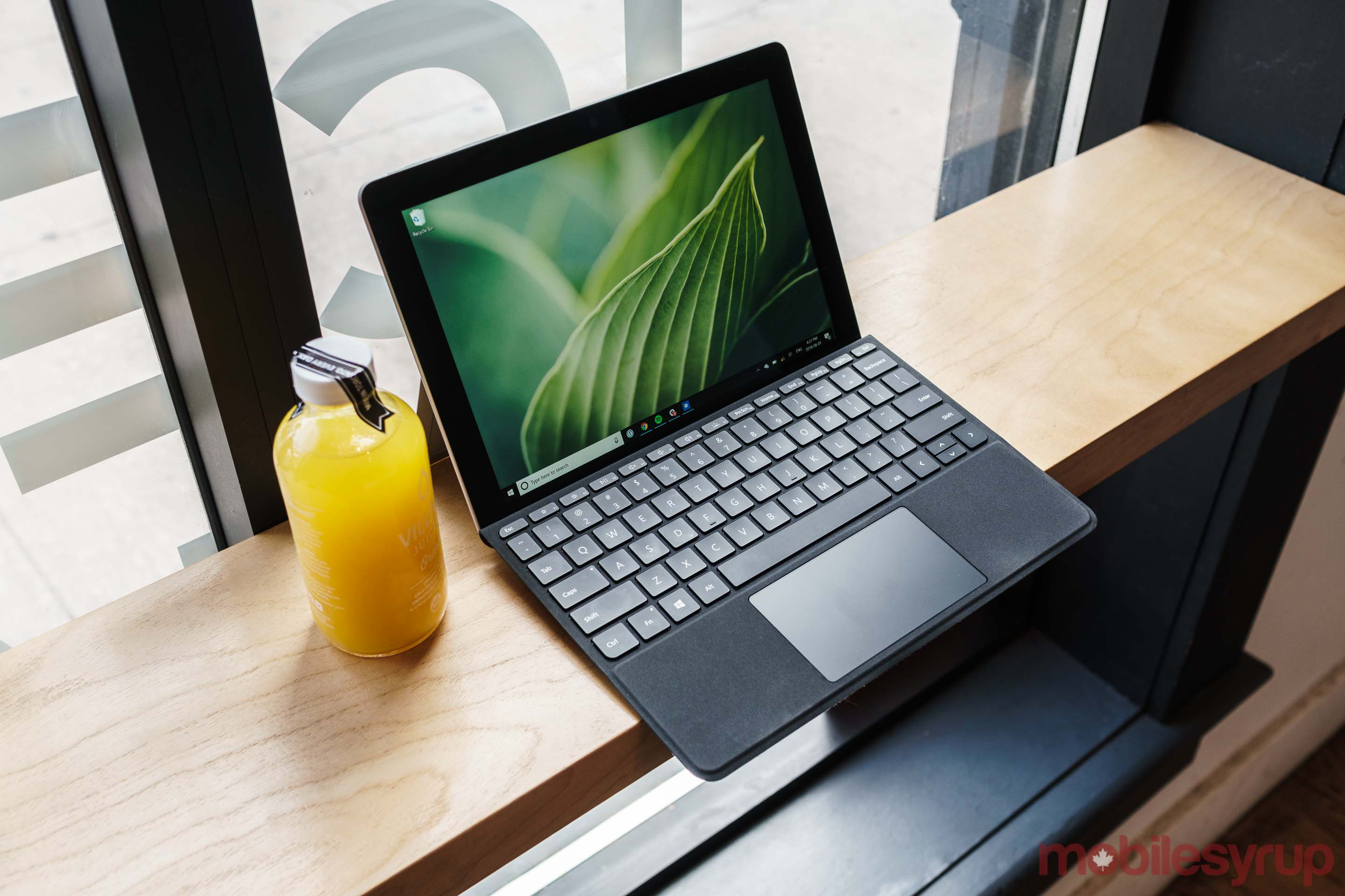 Surface Go is Microsoft's smallest and thinnest Surface to date