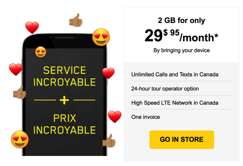 Videotron Offers Select Customers GB Data Plan For Per Month - Videotron online invoice