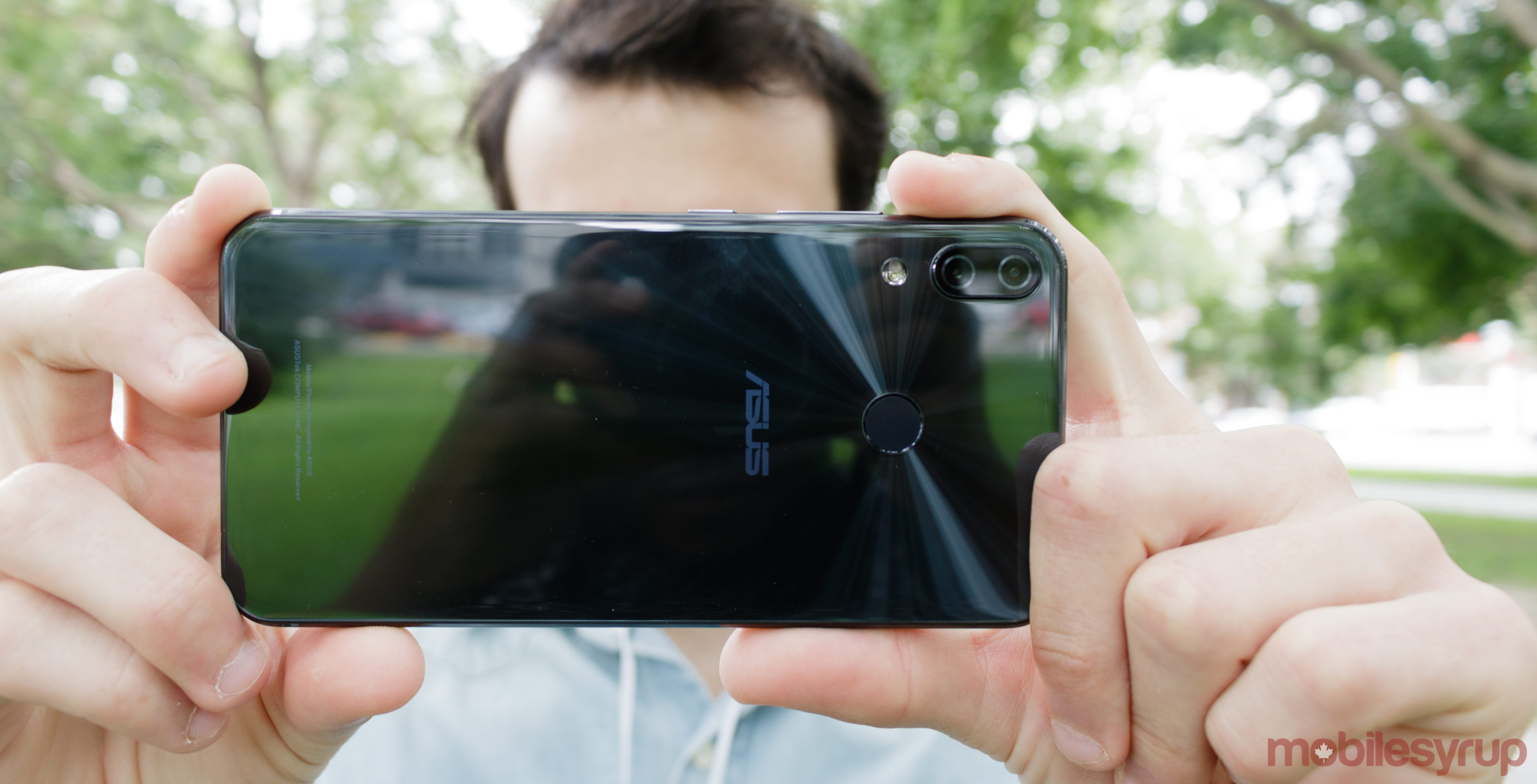 Asus Zenfone 6 Leak Shows Device With An Off Centered Notch Back Case A New From Slashleaks Suggests That Will Add Waterdrop Slightly To The Right On