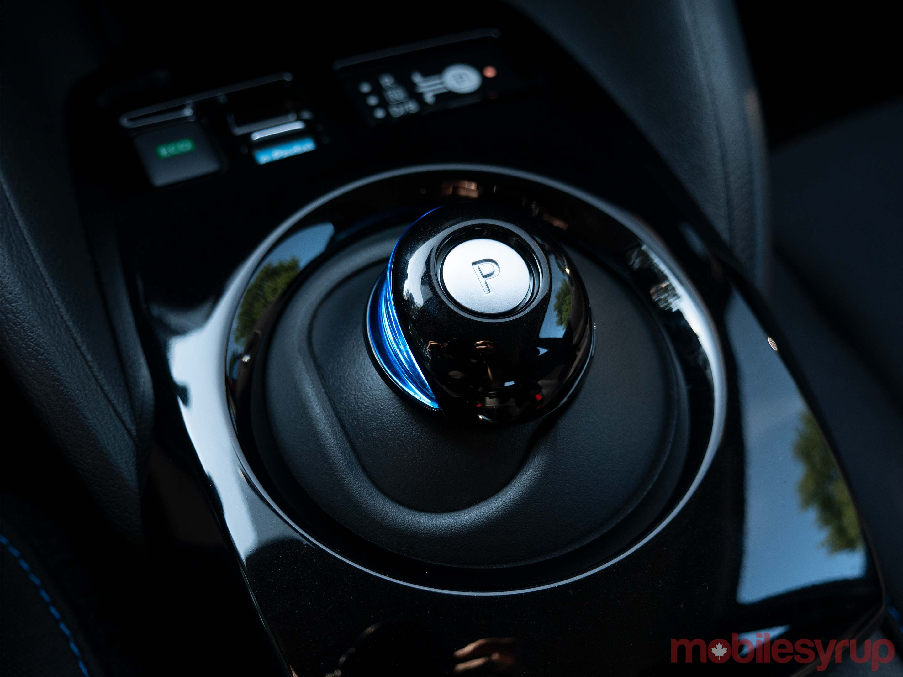 NIssan Leaf shifter