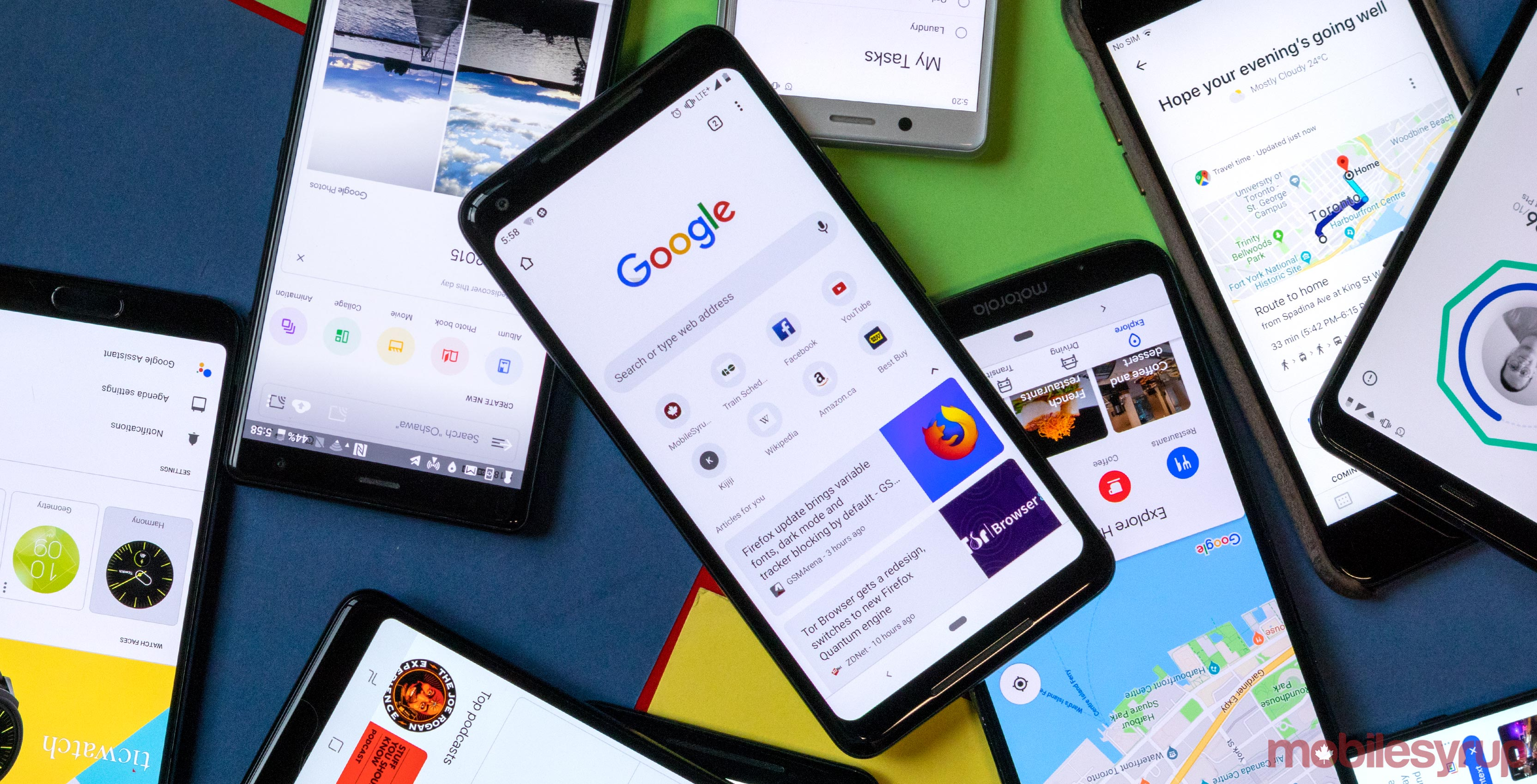 Google requires manufacturers to provide two years of Android updates