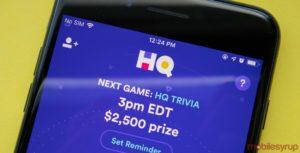 HQ Trivia on iPhone