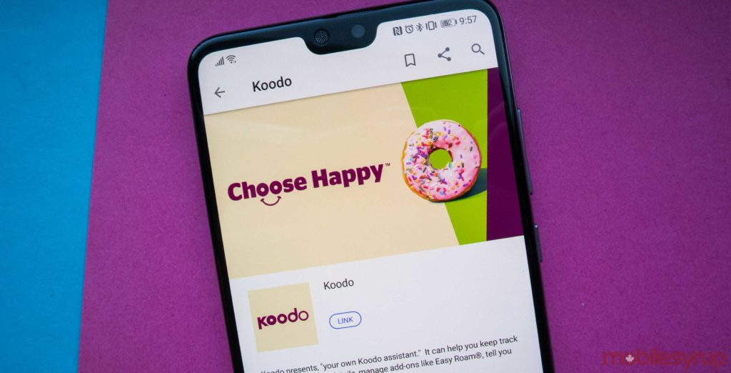 Koodo offering $50/6GB plans with waived $35 admin fee