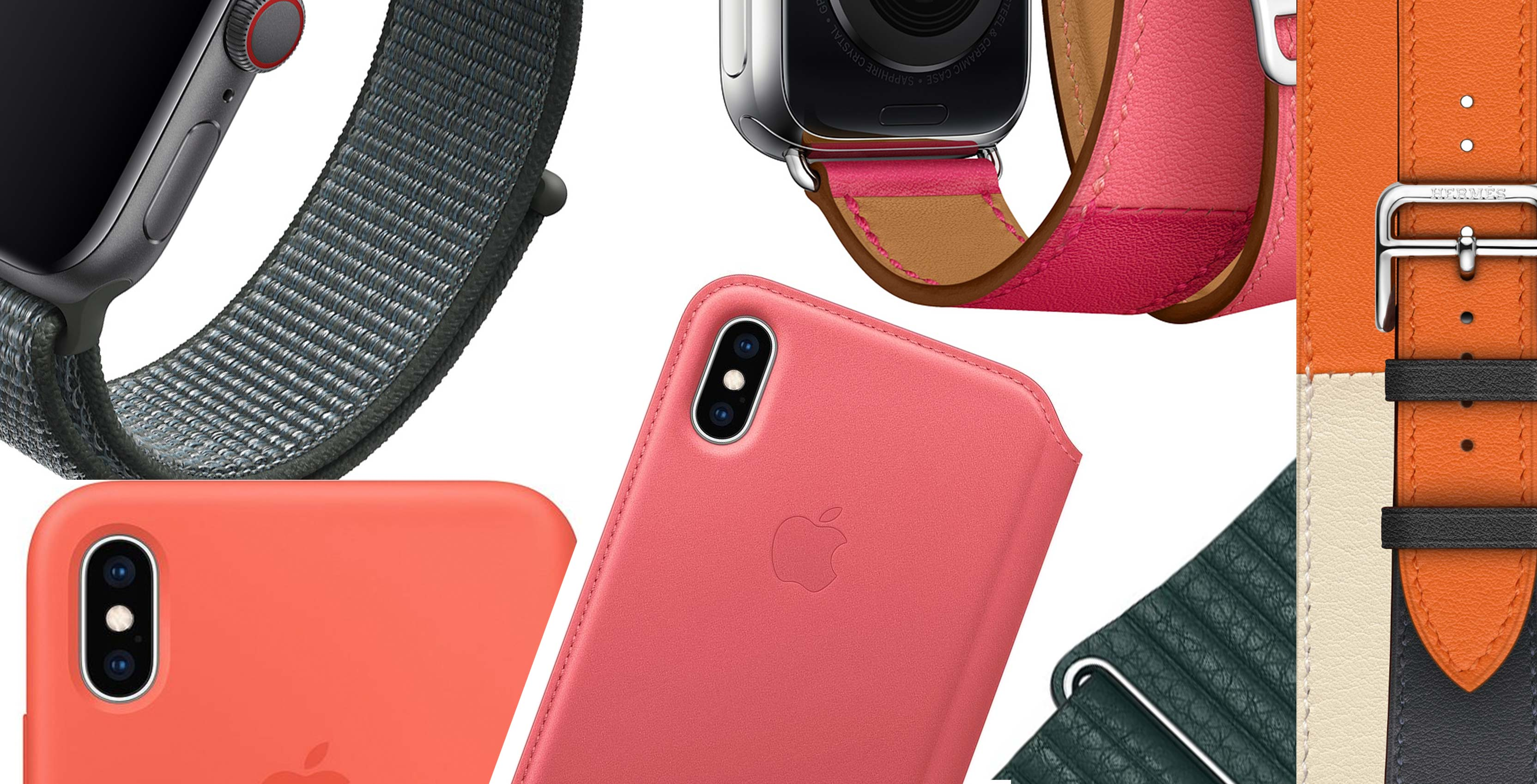 premium selection 9412b 5c271 Apple releases fresh iPhone cases and new batch of Apple Watch bands