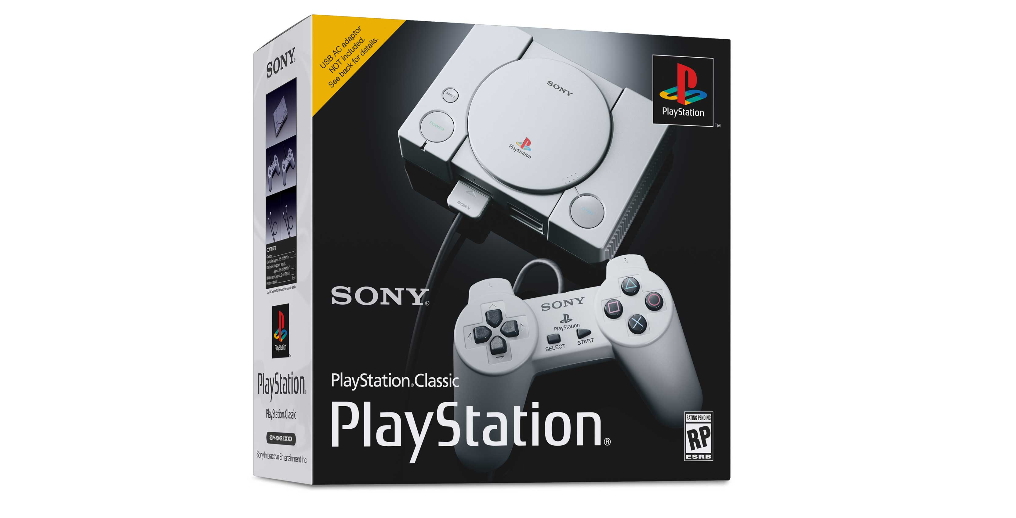 PlayStation Classic packaging