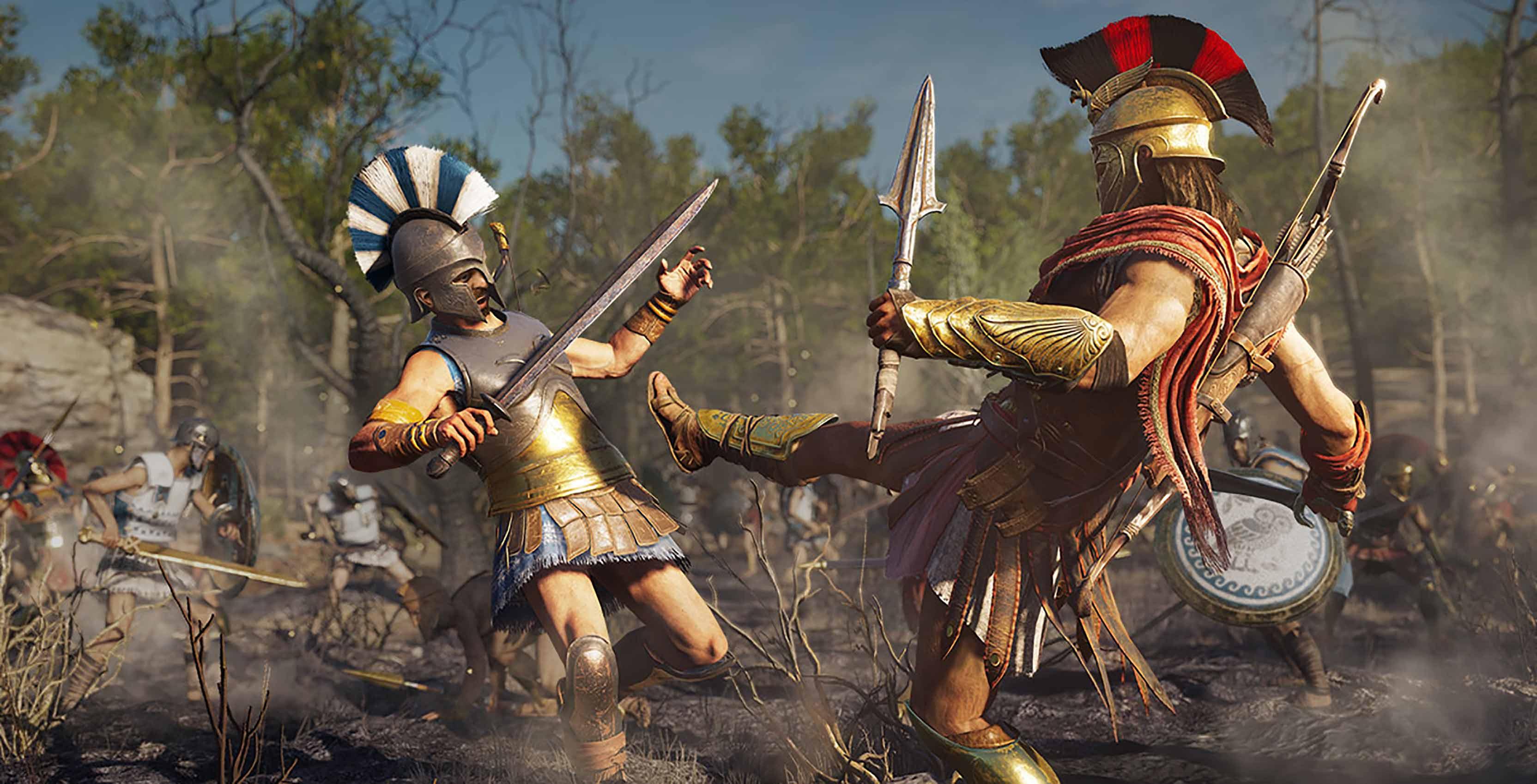 Ancient Greece AC Odyssey