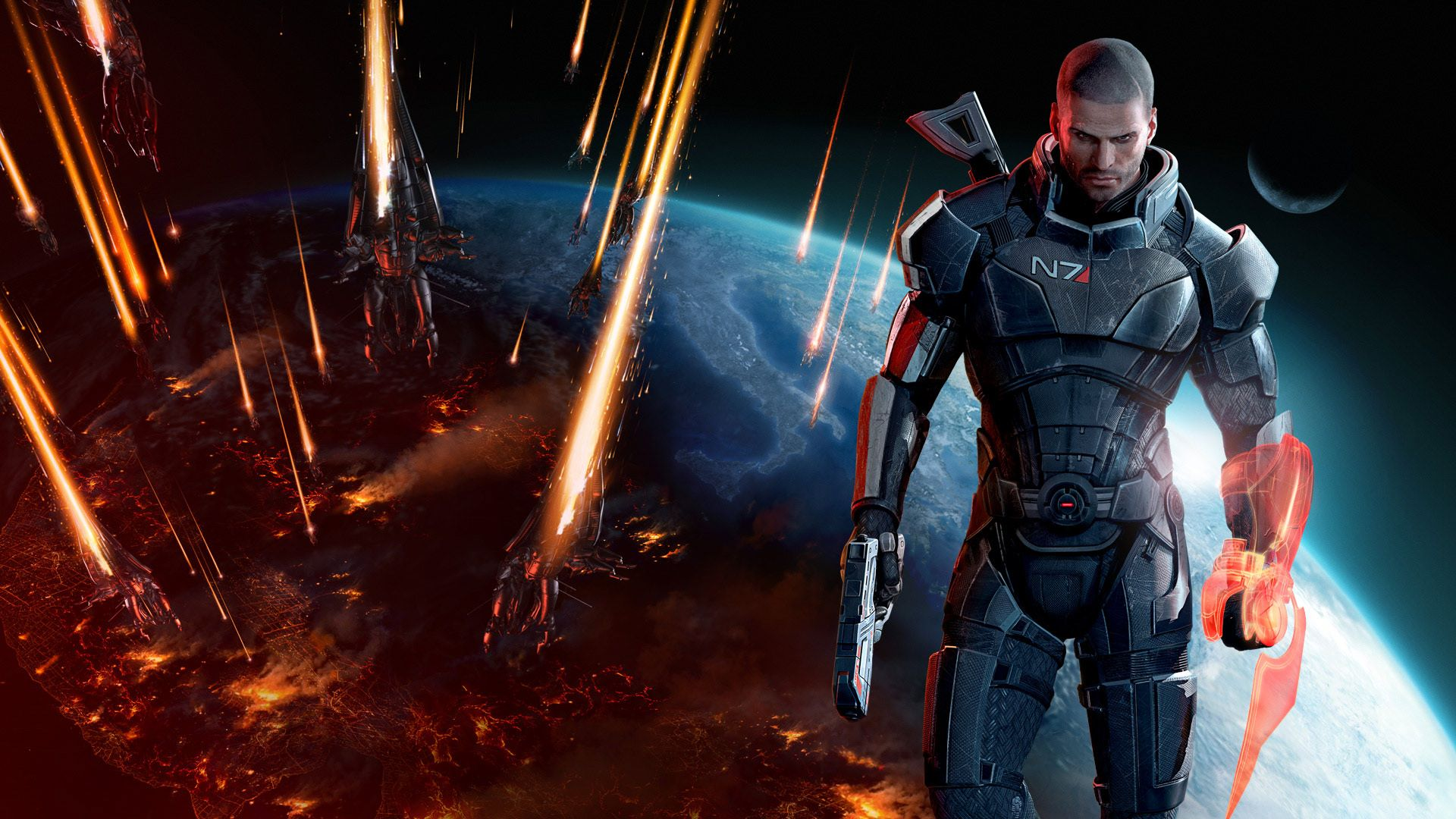 Mass Effect 3 Commander Shepard
