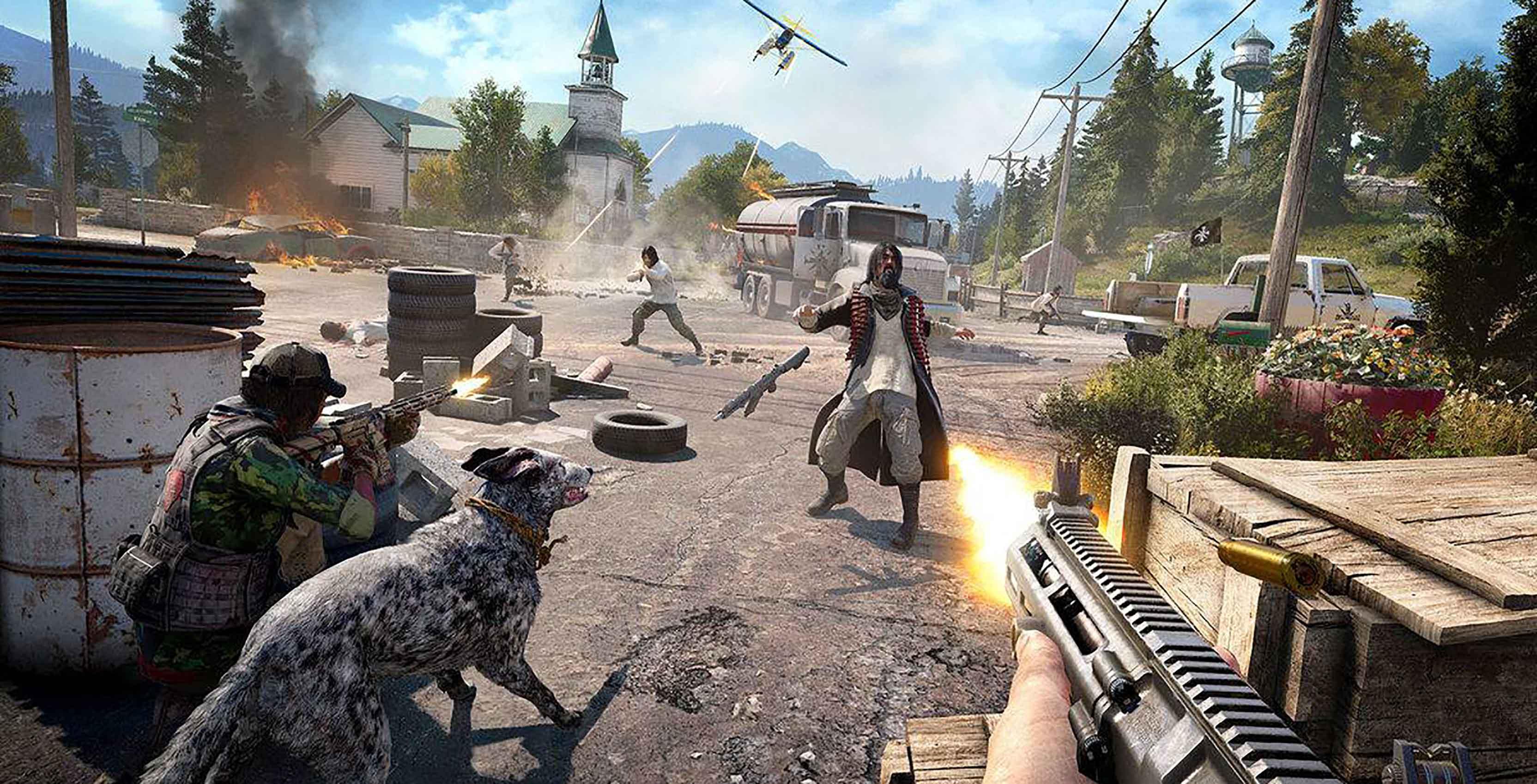 Far Cry 5 combat