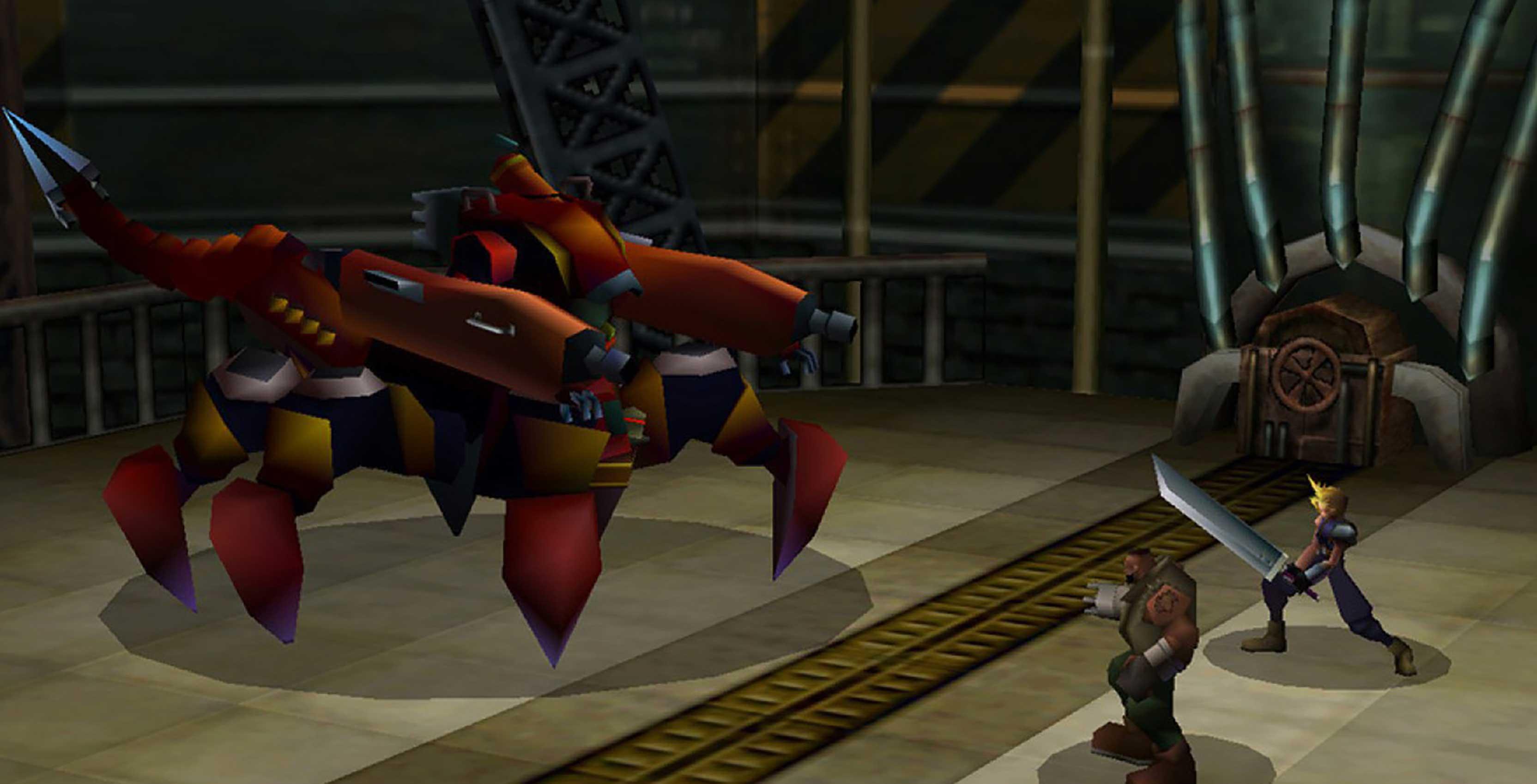 Final Fantasy VII Cloud and Barrett