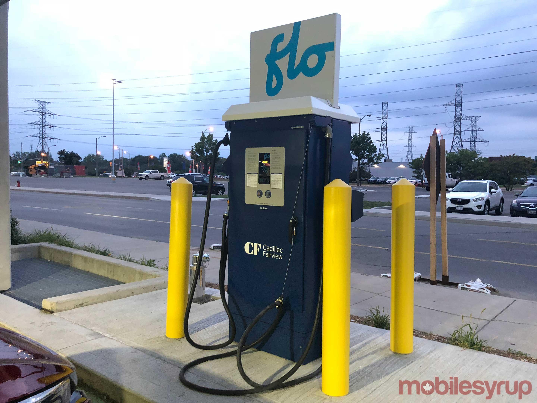 Flo EV charger
