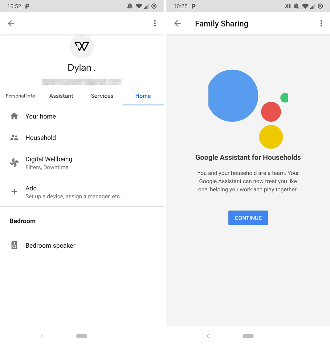 Google app settings redesign