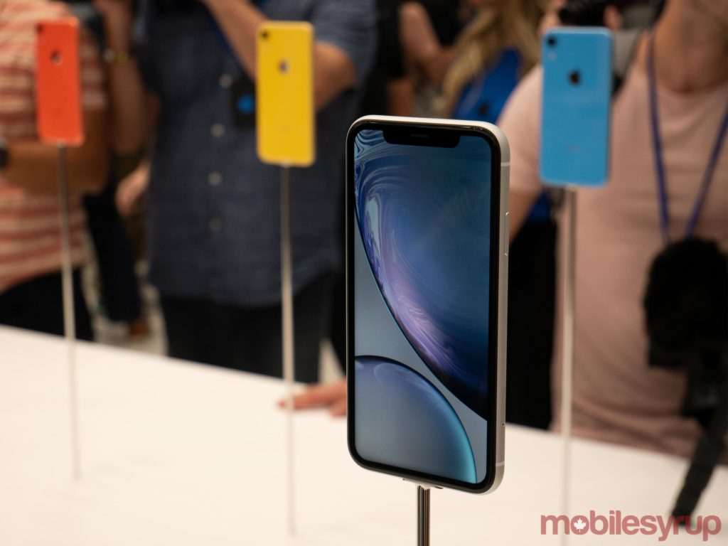 iPhone XR pre-orders are now available in Canada