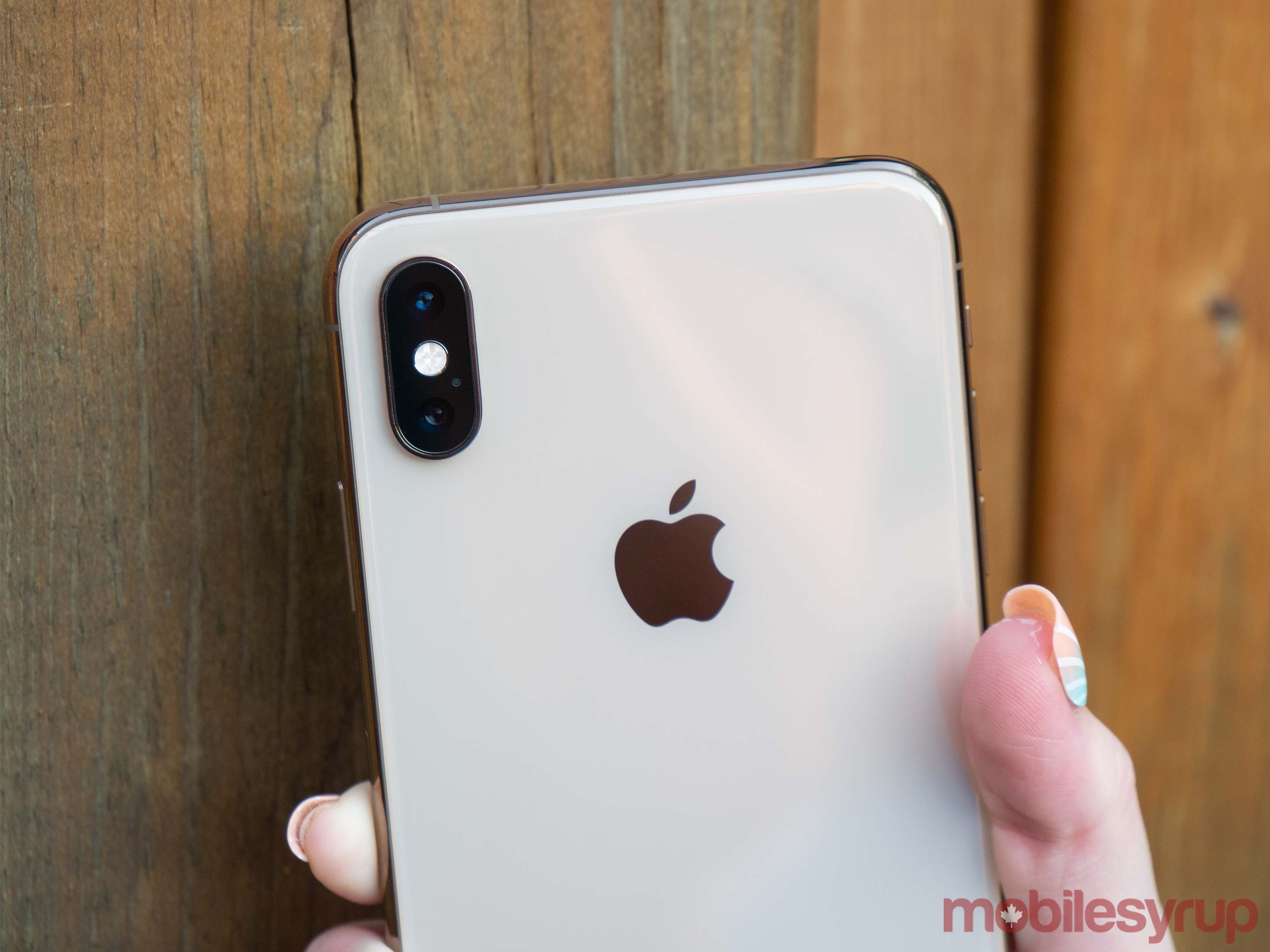 iPhone XS rear