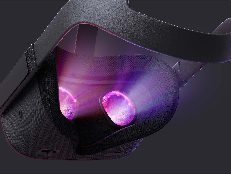 Oculus Quest rear