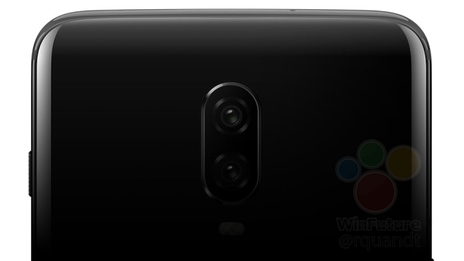 A render of the upcoming OnePlus 6T