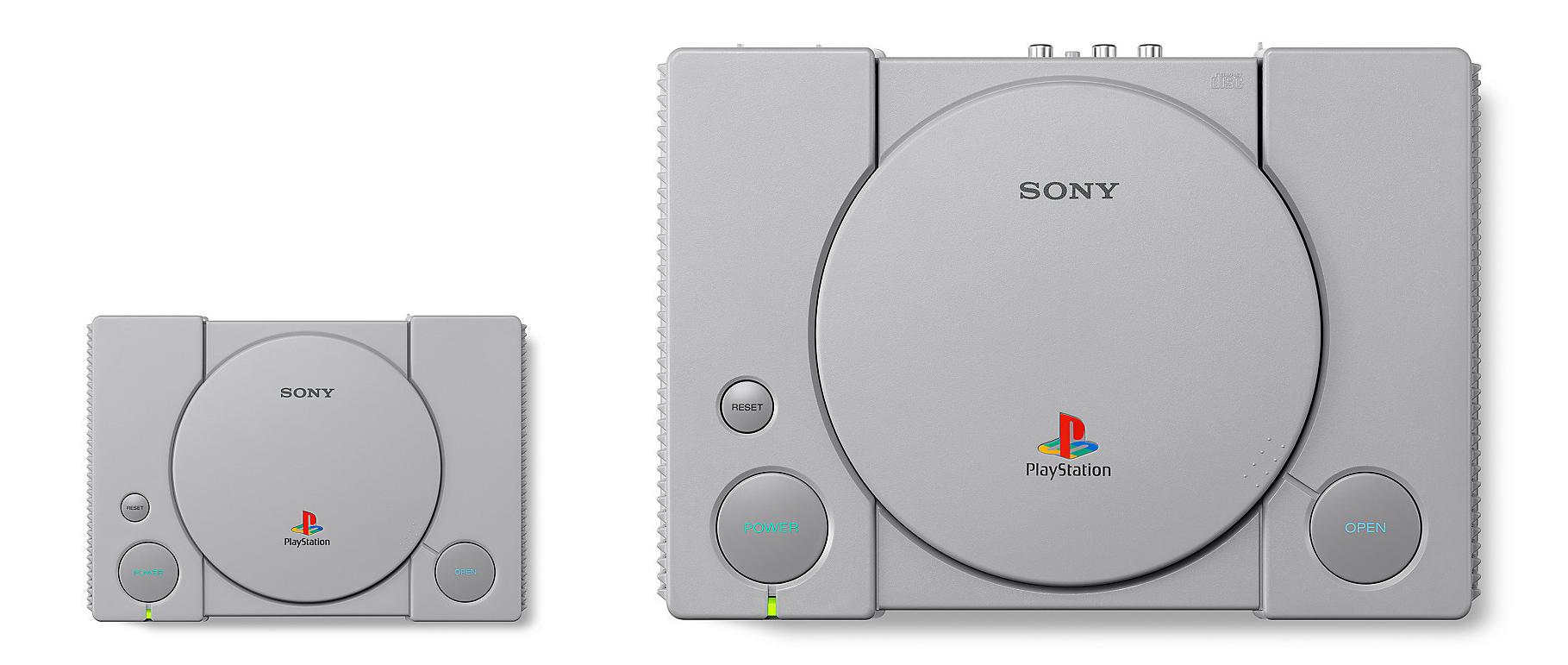 PlayStation Classic size comparison