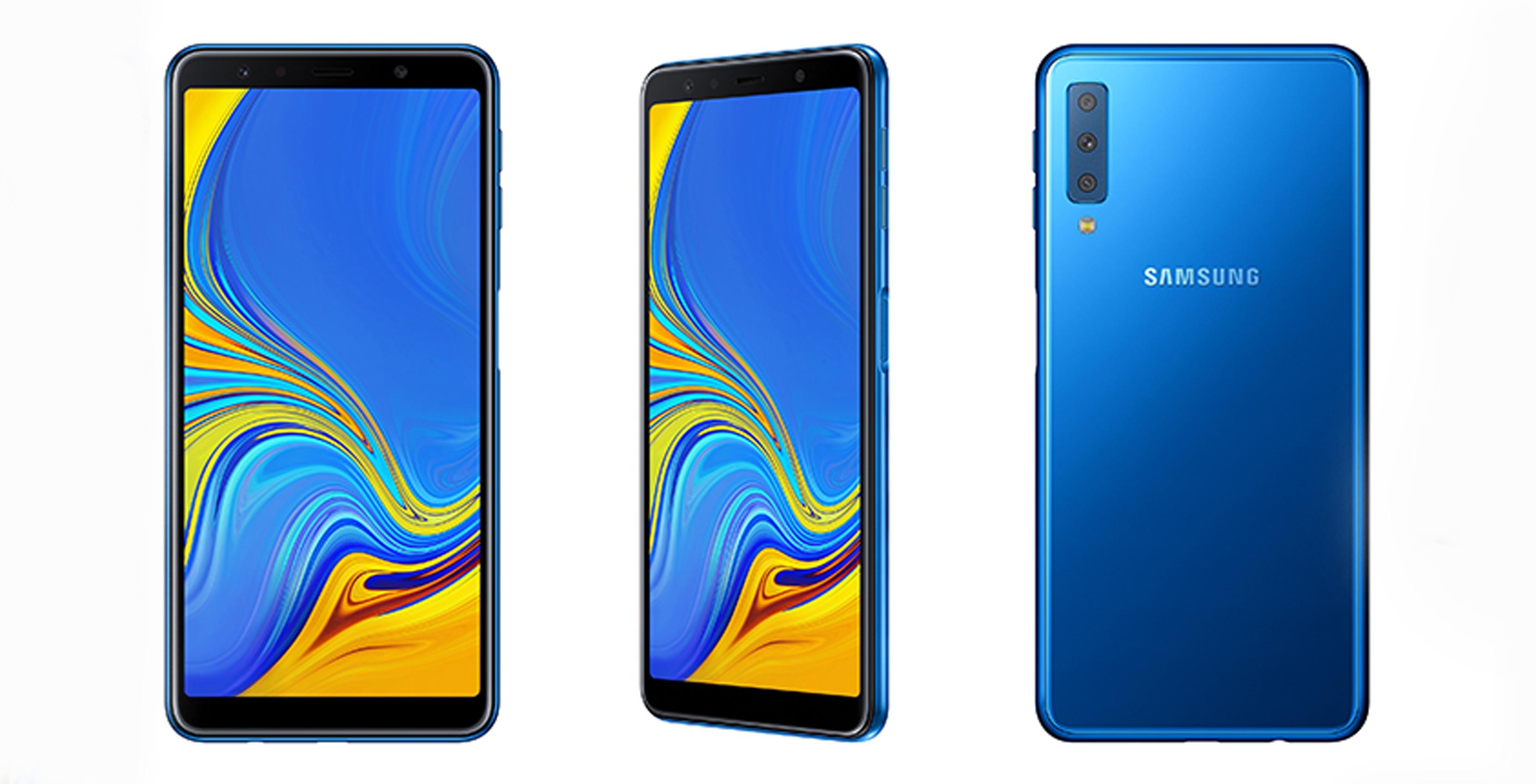 Samsung's new Galaxy A7 midrange smartphone