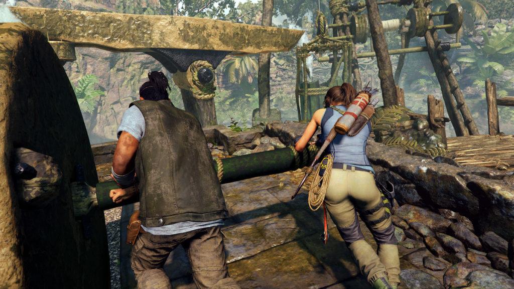 Shadow of the Tomb Raider Lara and Jonah