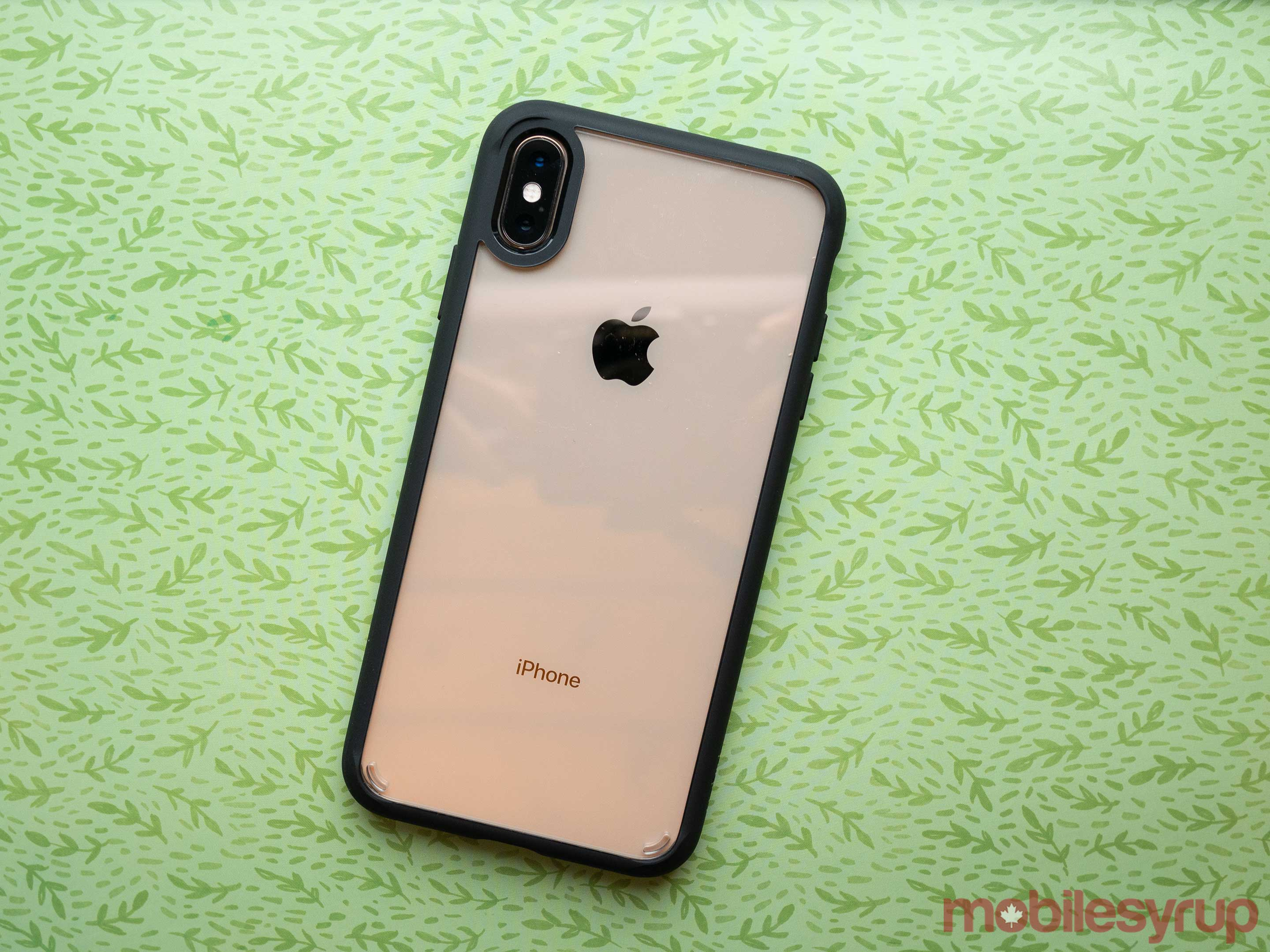 spigen thin iphone xs case