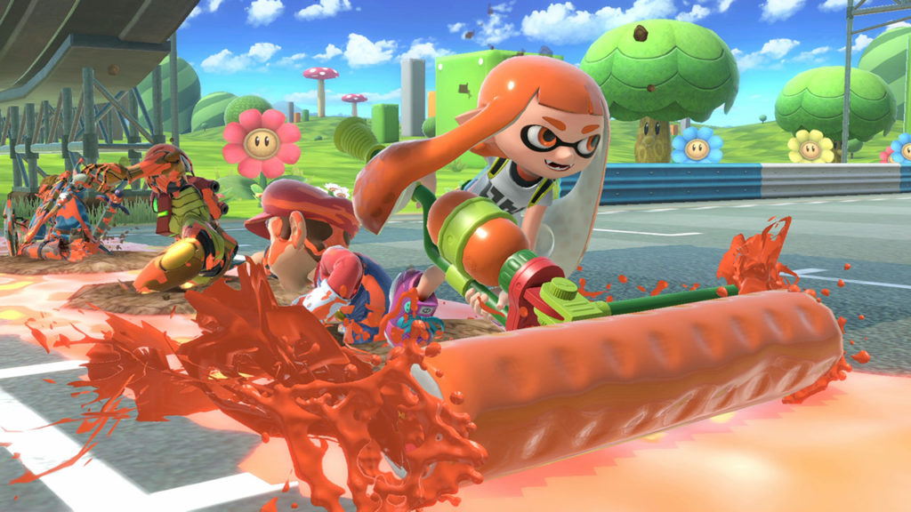 Super Smash Bros. Inkling