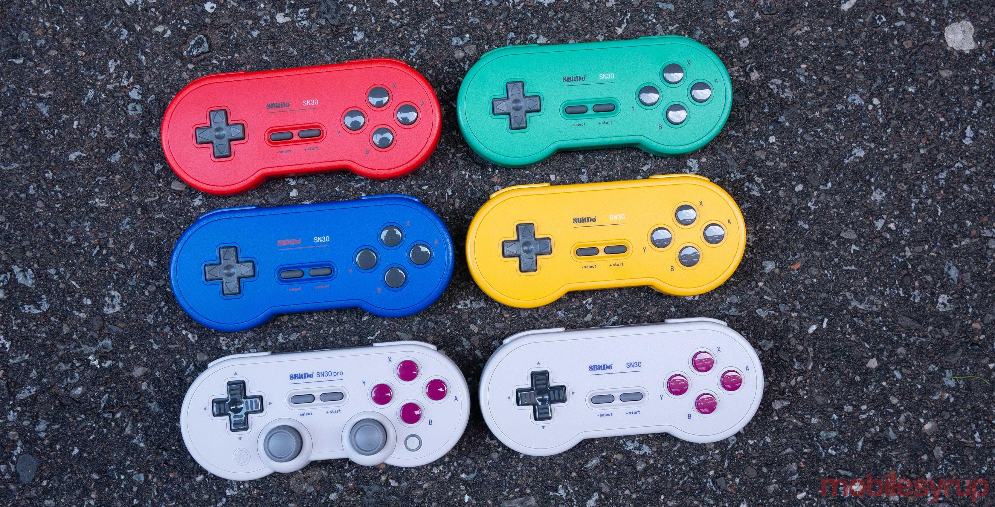 8Bitdo controllers