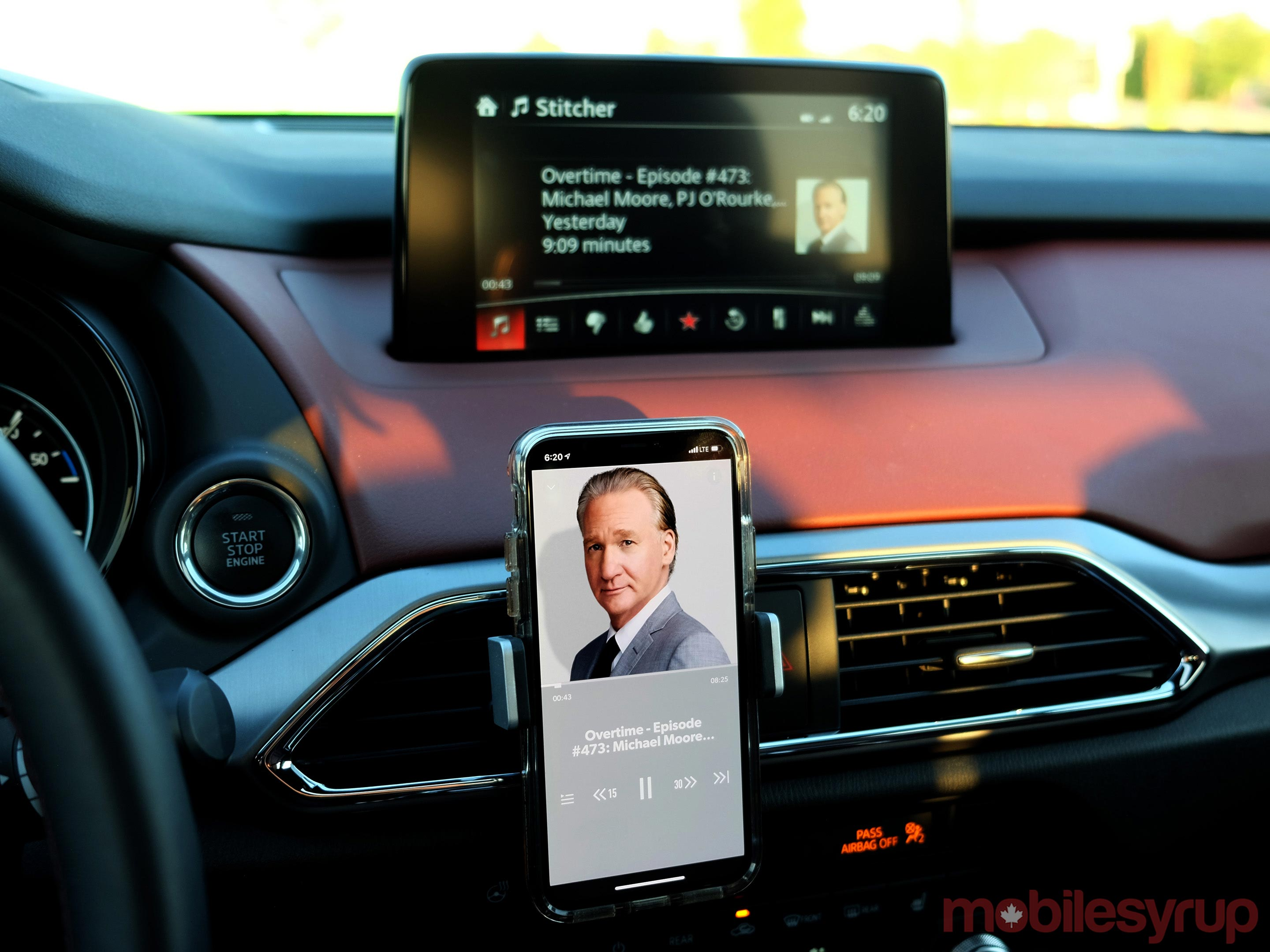Mazda Connect Stitcher integration