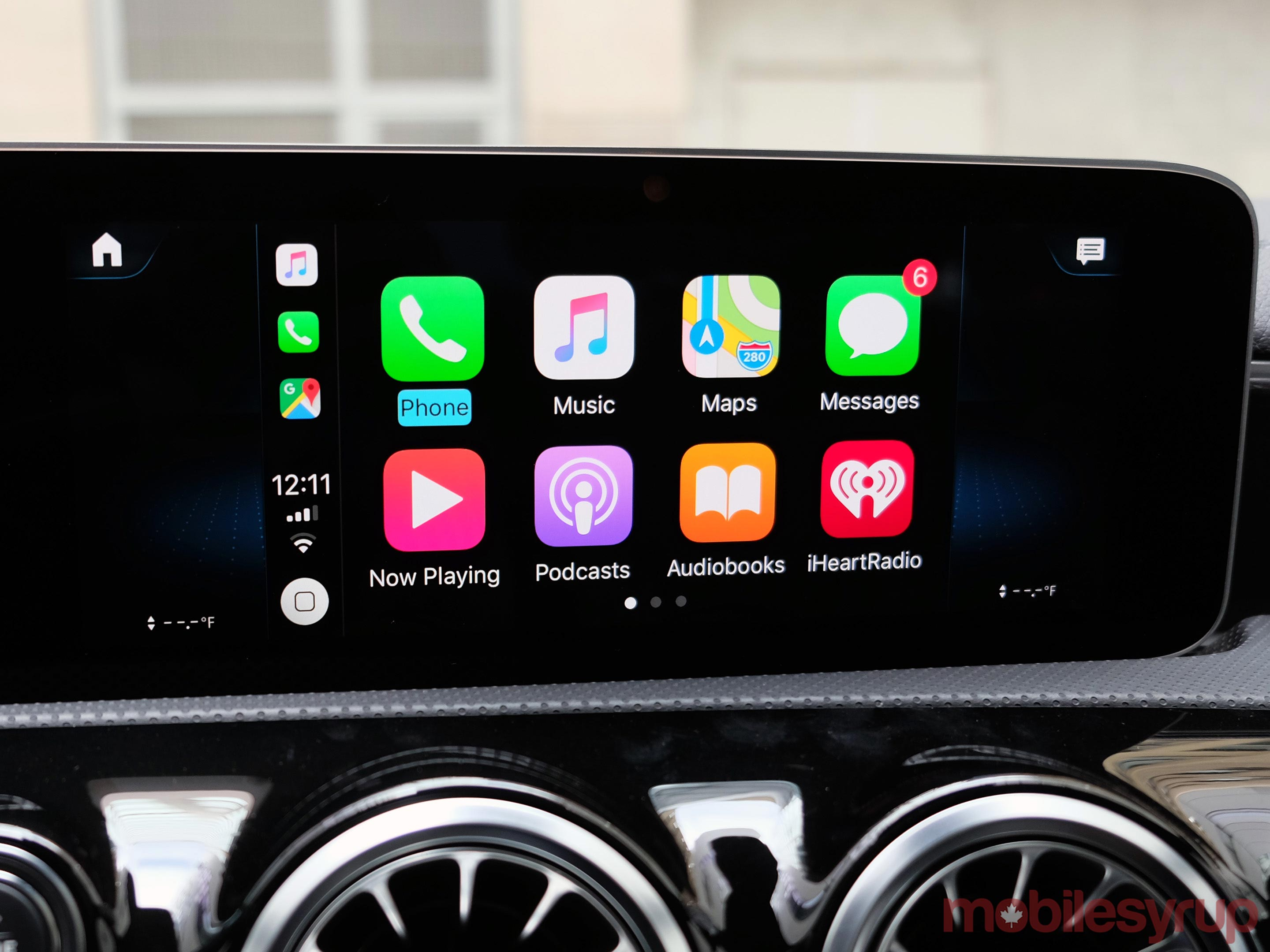Mercedes MBUX CarPlay
