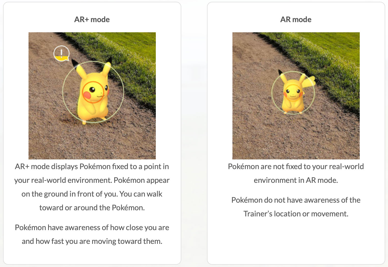 Pokémon Go for Android gets a boost with ARCore support