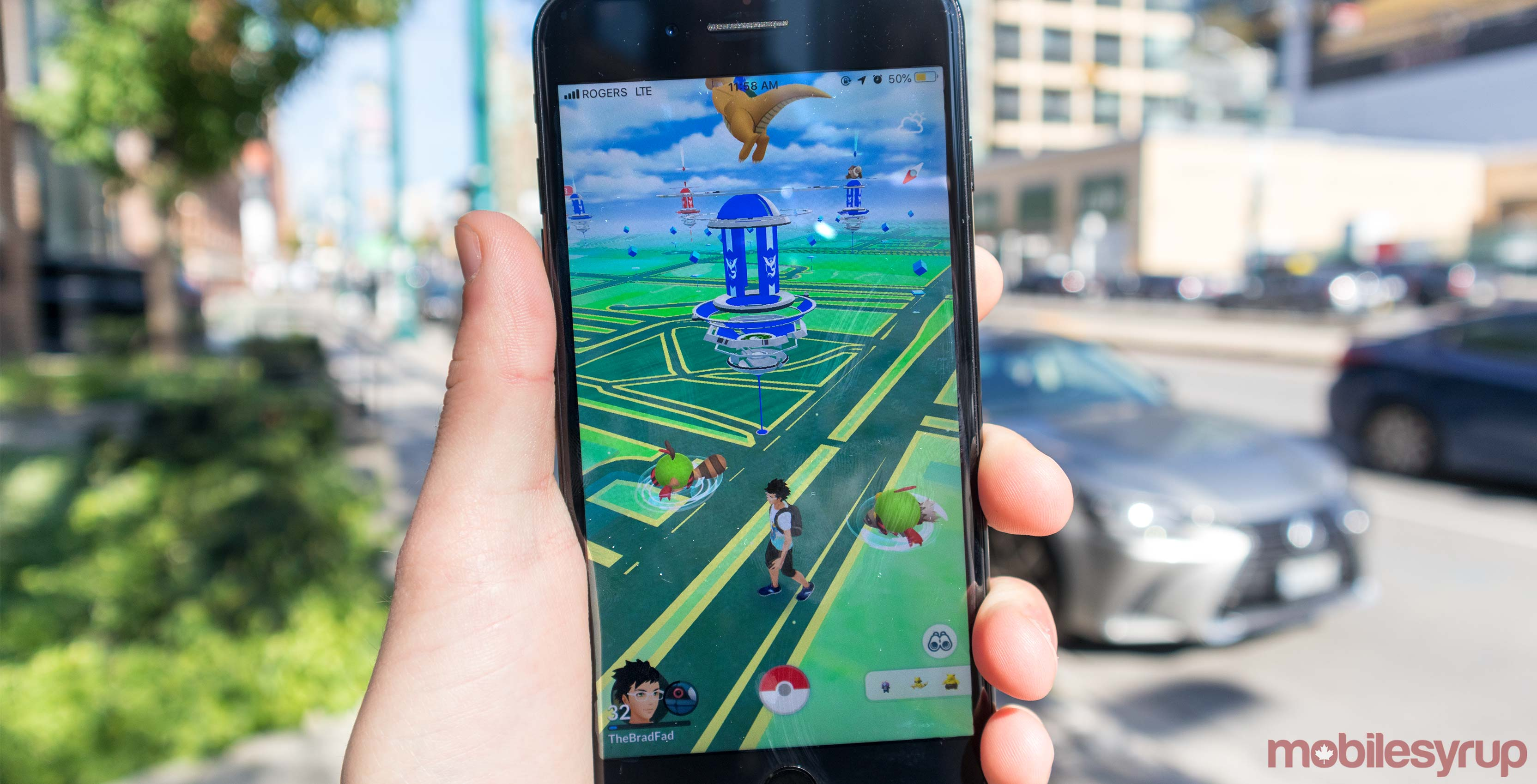 Pokemon Go update tracks your step without launching the game