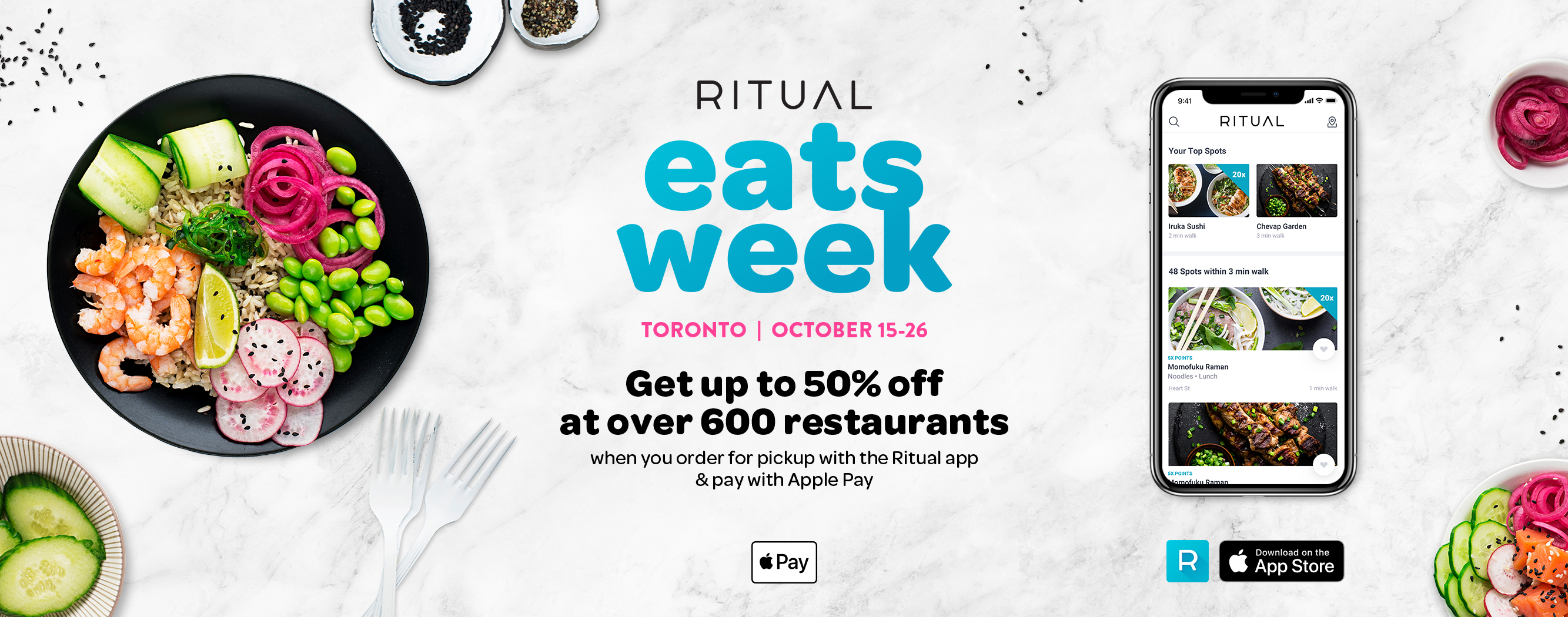 Ritual Eats Week Toronto