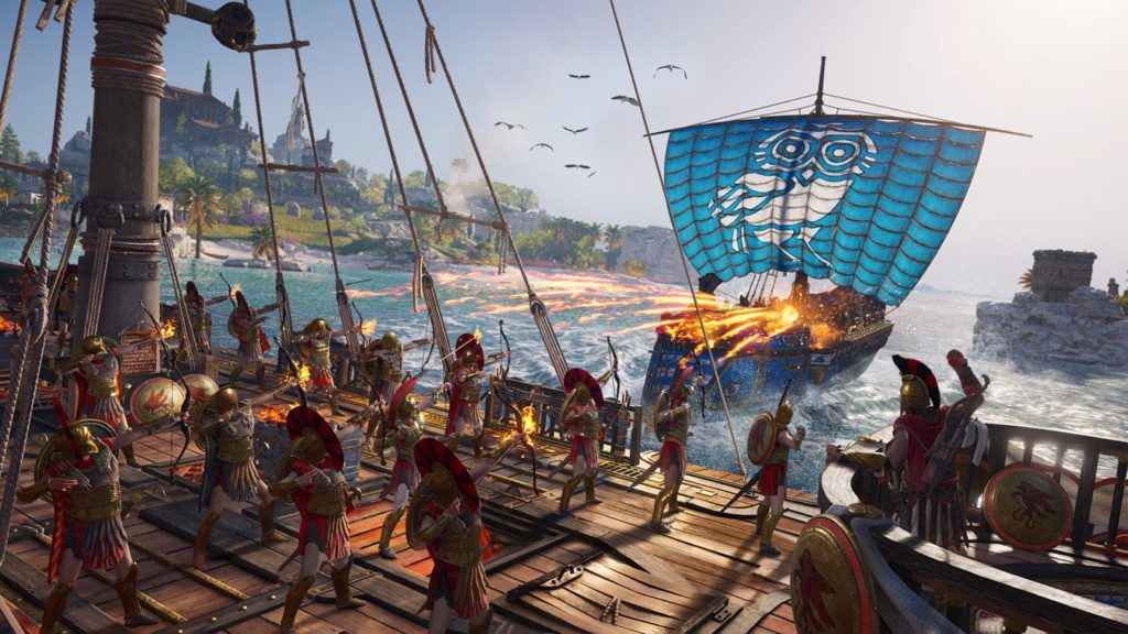 Assassin's Creed Odyssey naval combat