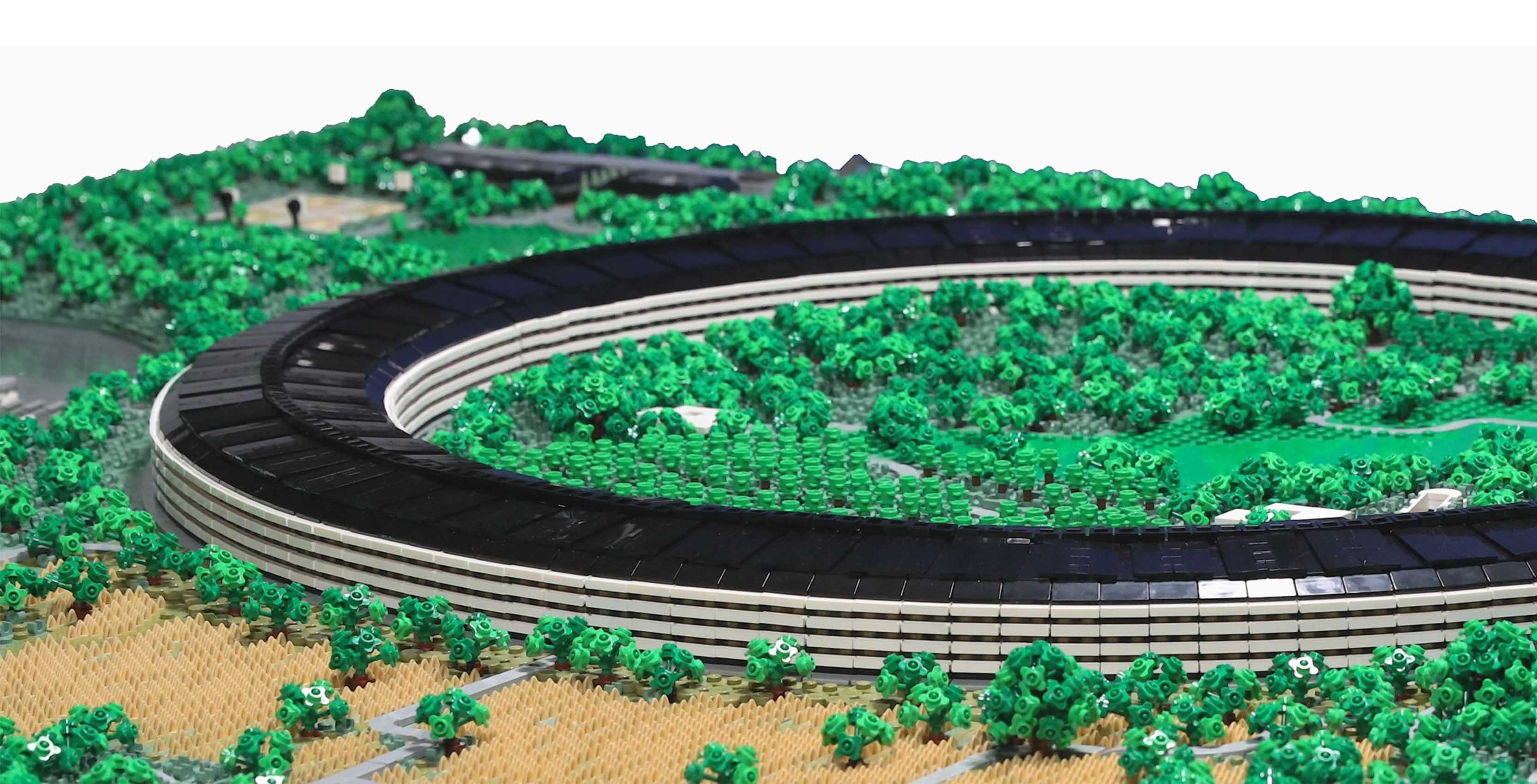 Apple Park in Lego