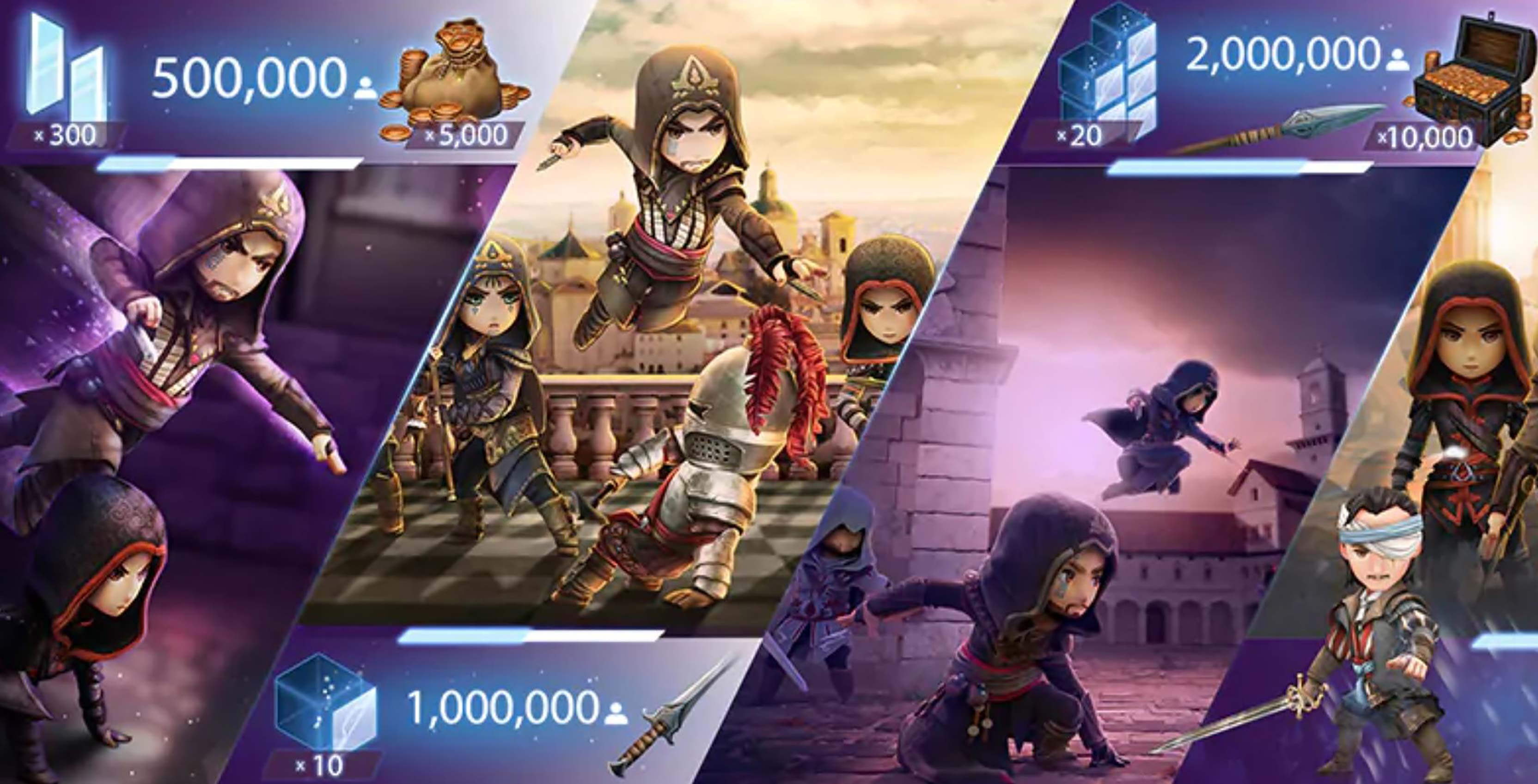 Assassin S Creed Rebellion Launches On Mobile In November