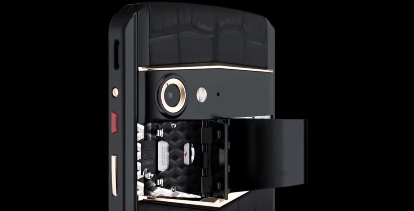 Vertu has unveiled its new smartphone